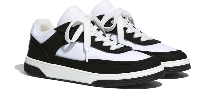 image 2 - Sneakers - Fabric - Black & White