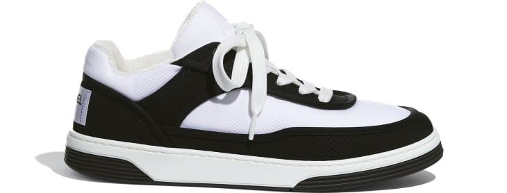image 1 - Sneakers - Fabric - Black & White