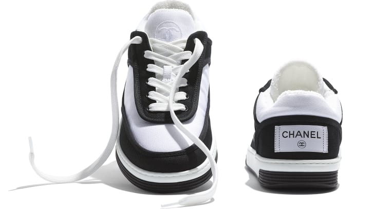 image 4 - Sneakers - Fabric - Black & White