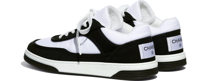 image 3 - Sneakers - Fabric - Black & White