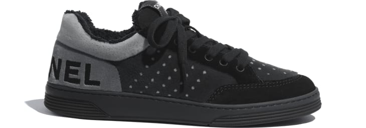 image 1 - Sneakers - Fabric & Suede Calfskin - Gray