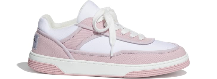 image 1 - Sneakers - Fabric - Pink & White