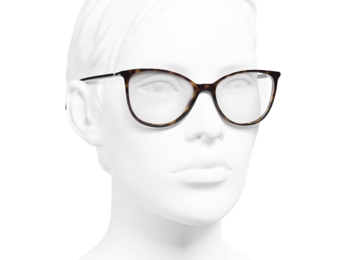 image 6 - Óculos De Grau Quadrado - Acetato - Tartaruga Escura