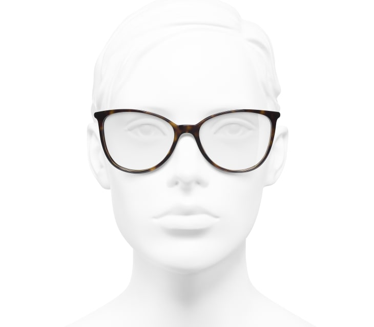image 5 - Óculos De Grau Quadrado - Acetato - Tartaruga Escura