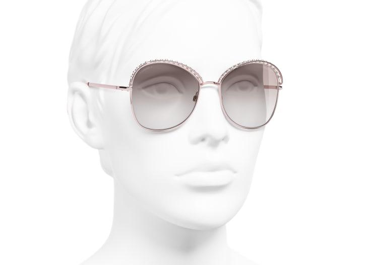 image 6 - 선글라스 - 메탈, 판타지 펄 - 핑크 골드