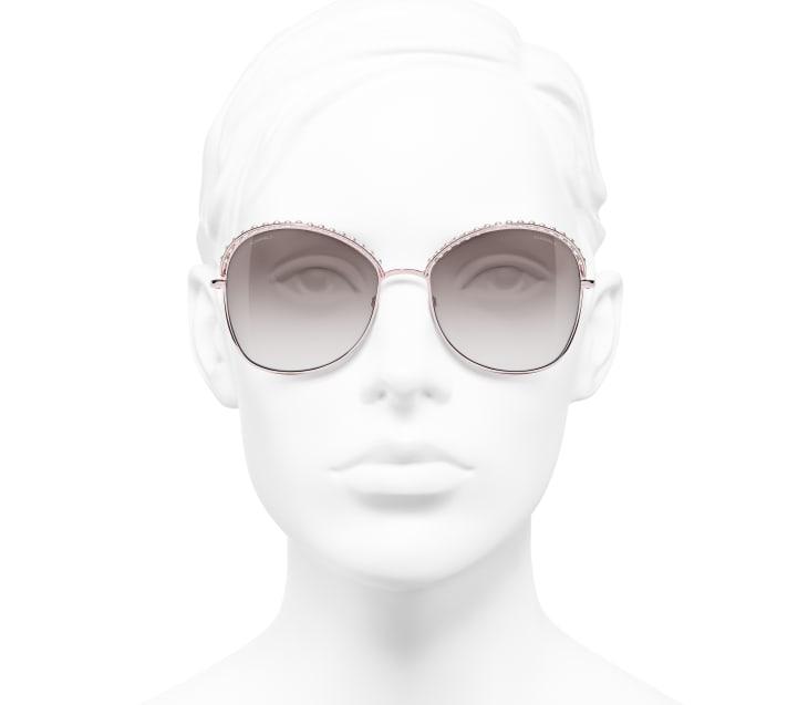 image 5 - 선글라스 - 메탈, 판타지 펄 - 핑크 골드