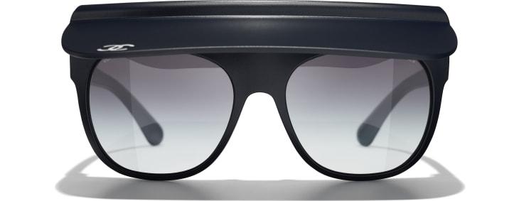 image 2 - Visor Sunglasses - Nylon - Azul Escuro