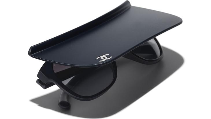image 4 - Visor Sunglasses - Nylon - Azul Escuro