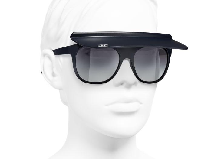 image 6 - Visor Sunglasses - Nylon - Azul Escuro