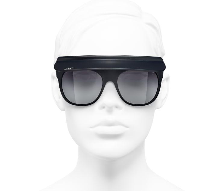 image 5 - Visor Sunglasses - Nylon - Azul Escuro