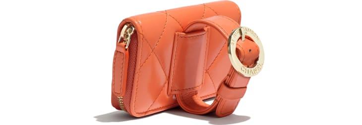 Bracelet porte-monnaie zippé