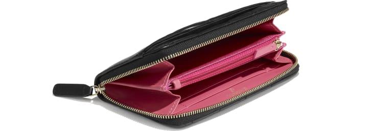 image 4 - Zipped Wallet - Goatskin & Gold-Tone Metal - Black
