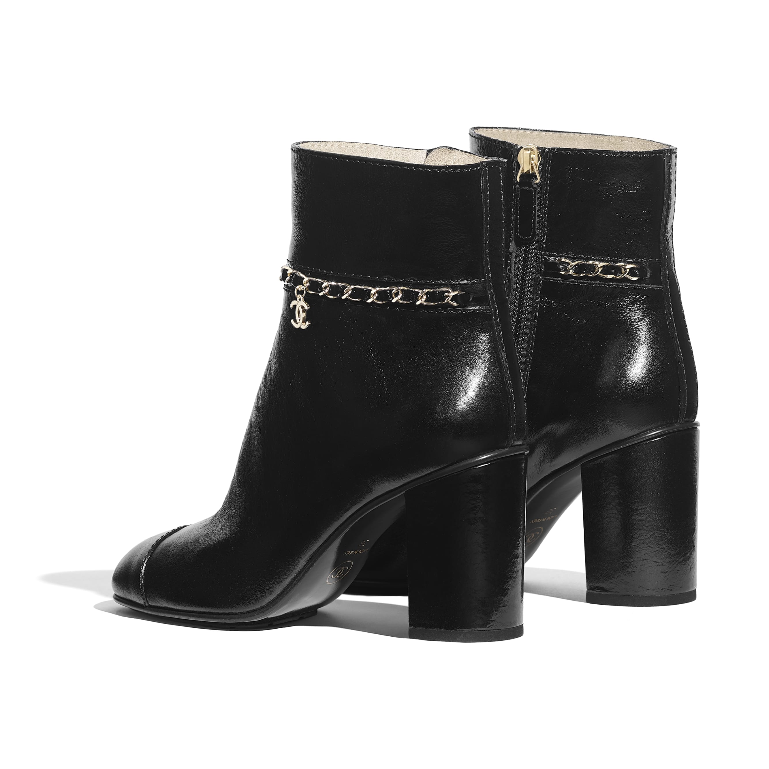 Ankle Boots - Black - Calfskin - Other view - see standard sized version
