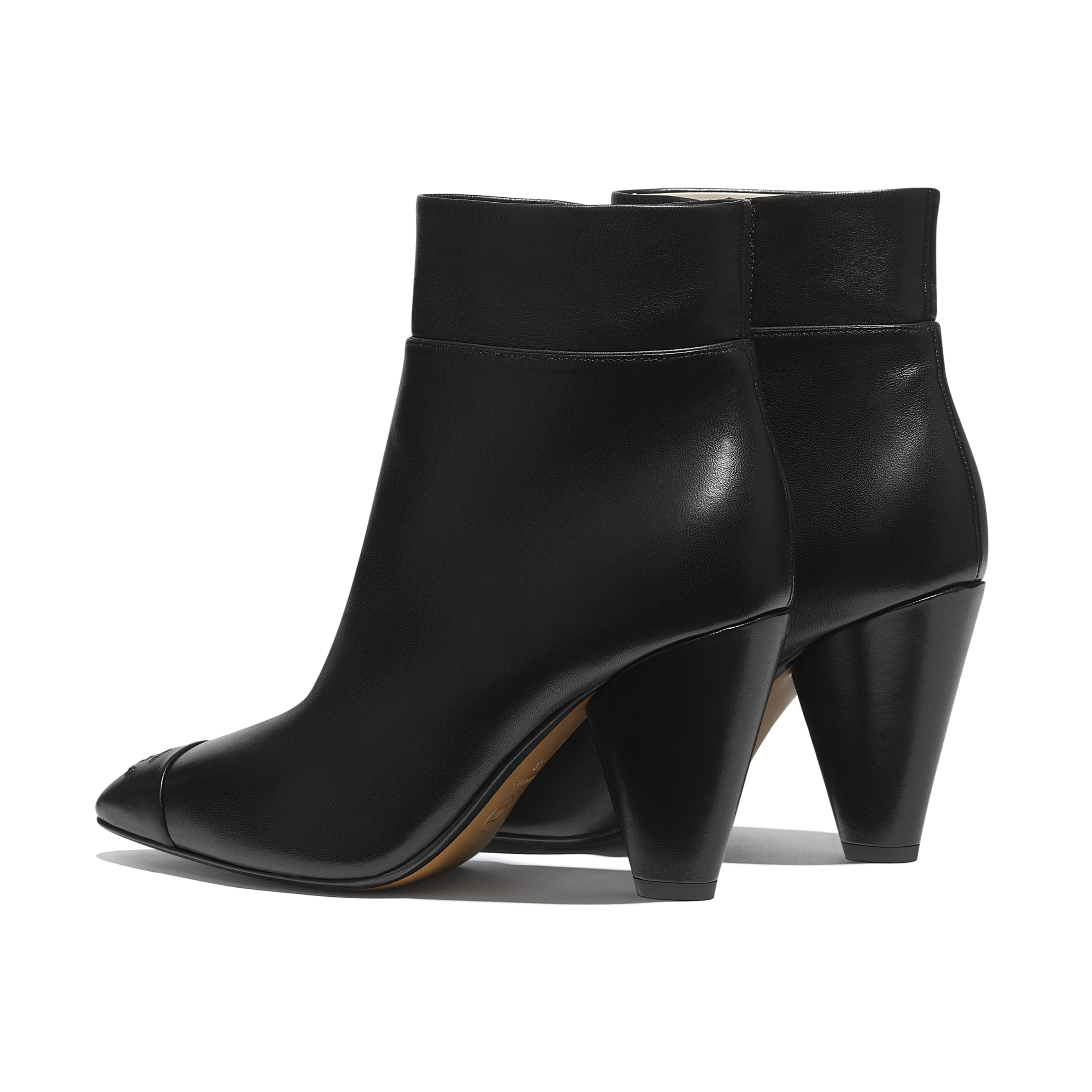 Ankle Boots - Black - Lambskin - Other view - see standard sized version