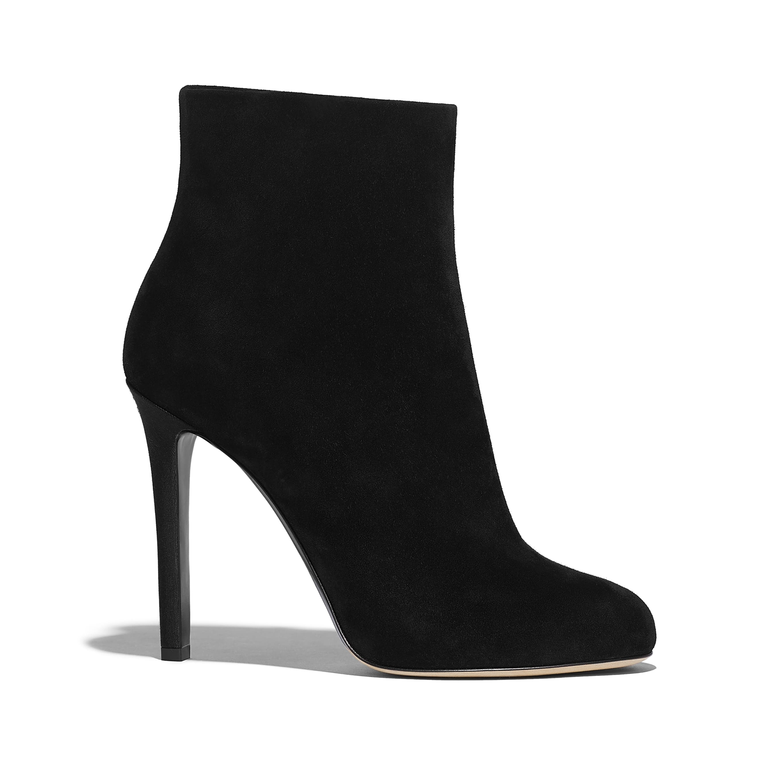 Ankle Boots - Black - Suede Calfskin - Default view - see standard sized version