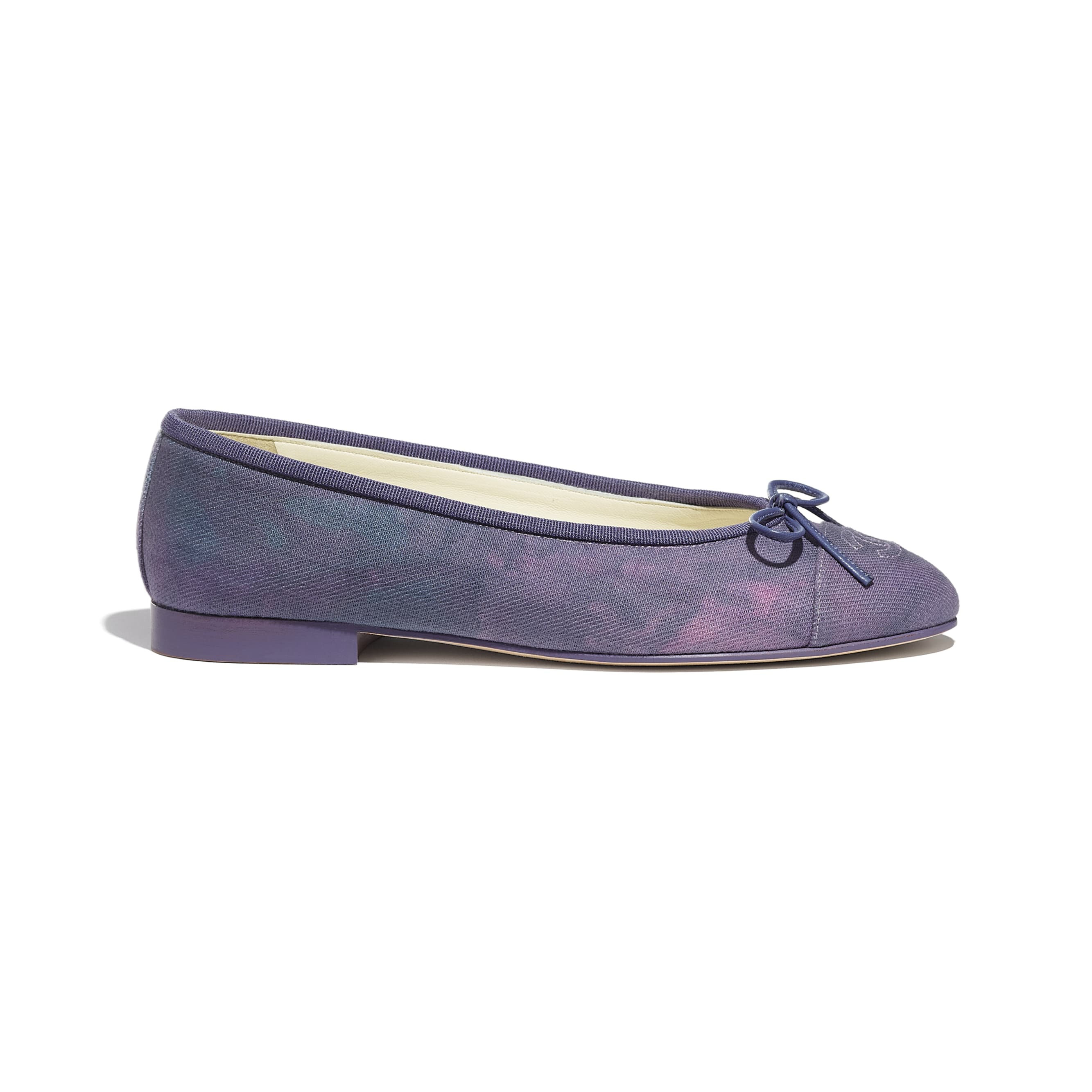 Flats - Purple, Blue & Pink - Fabric - CHANEL - Default view - see standard sized version