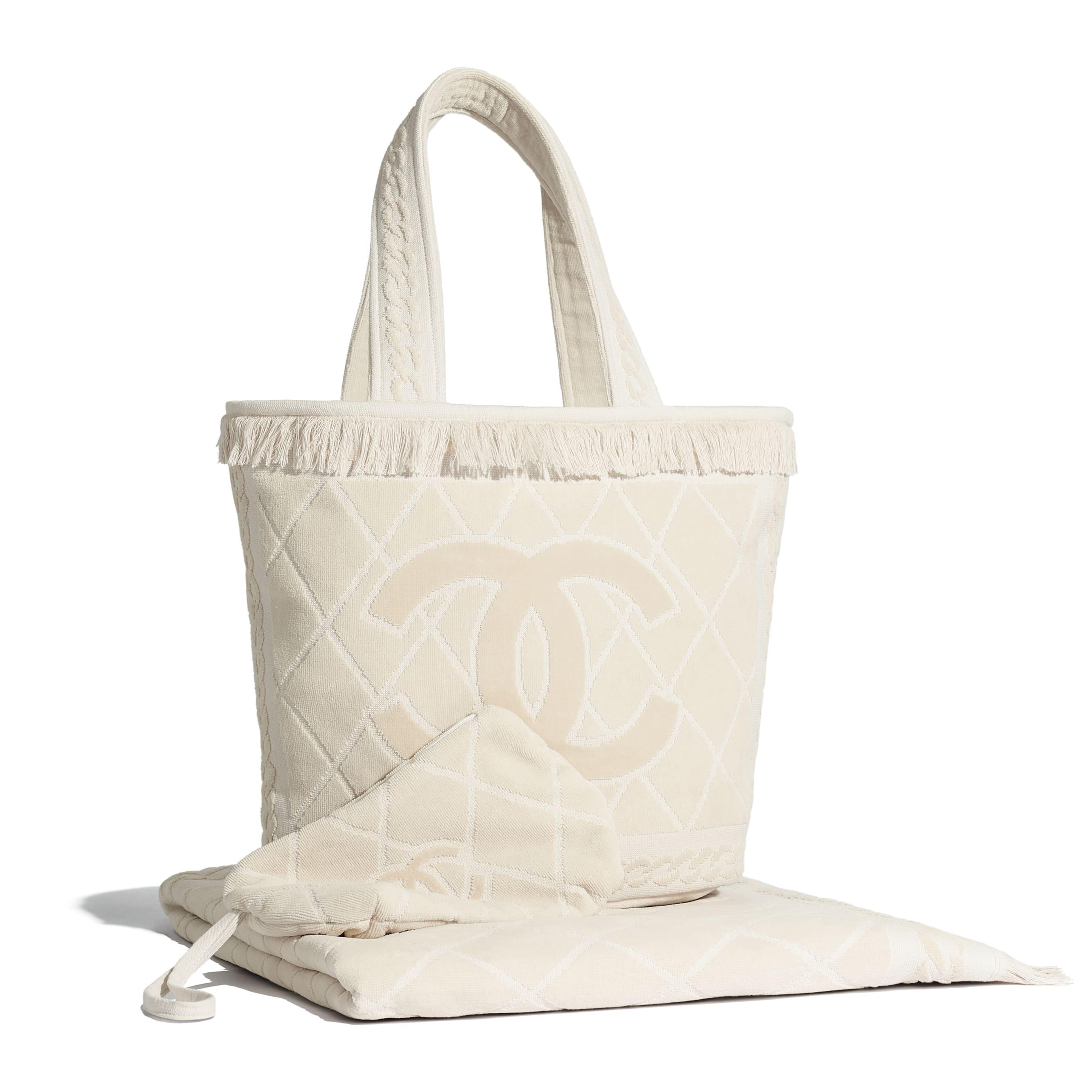 Beachwear Set - Beige - Cotton - Default view - see standard sized version