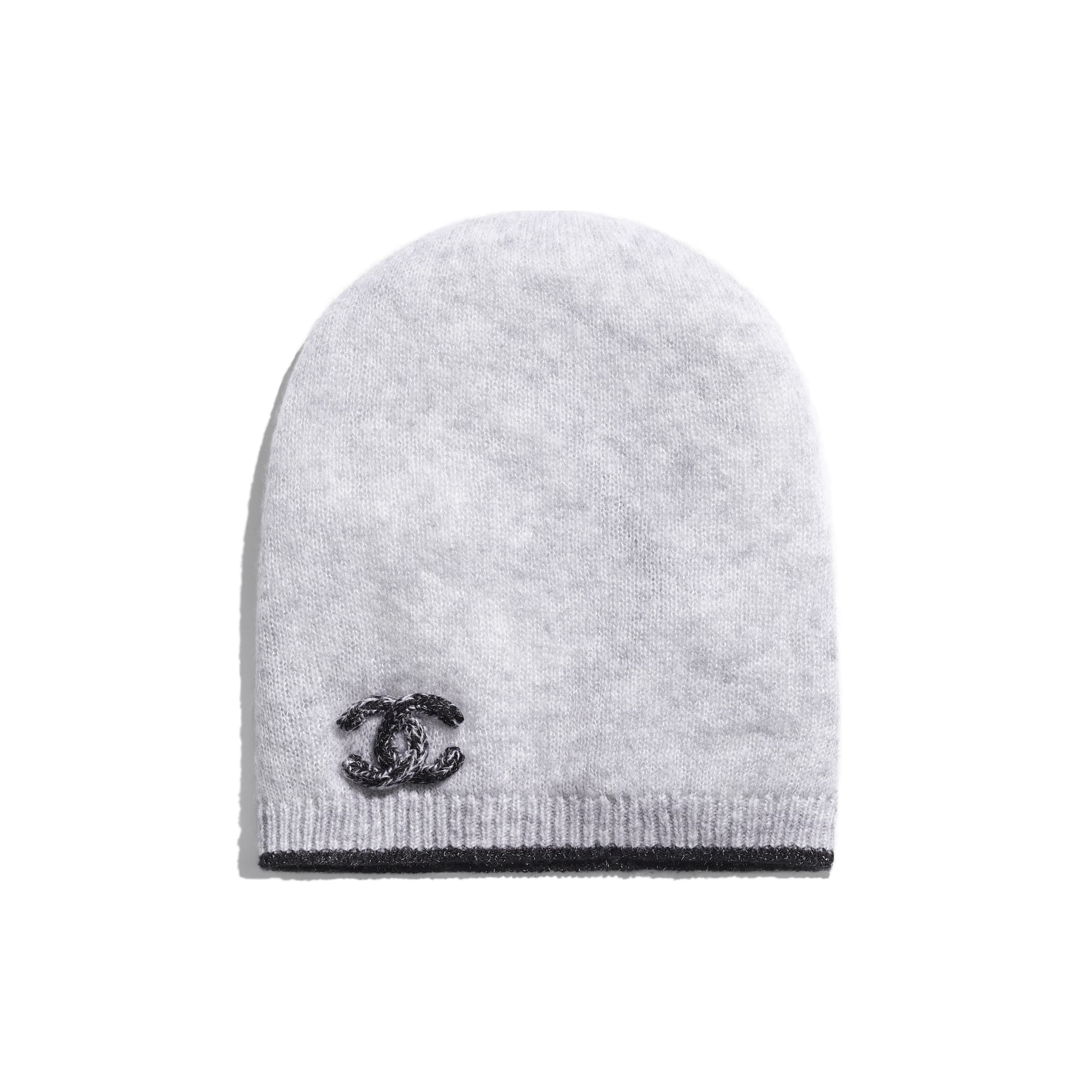 Beanie - Gray - Cashmere & Silk - Default view - see standard sized version