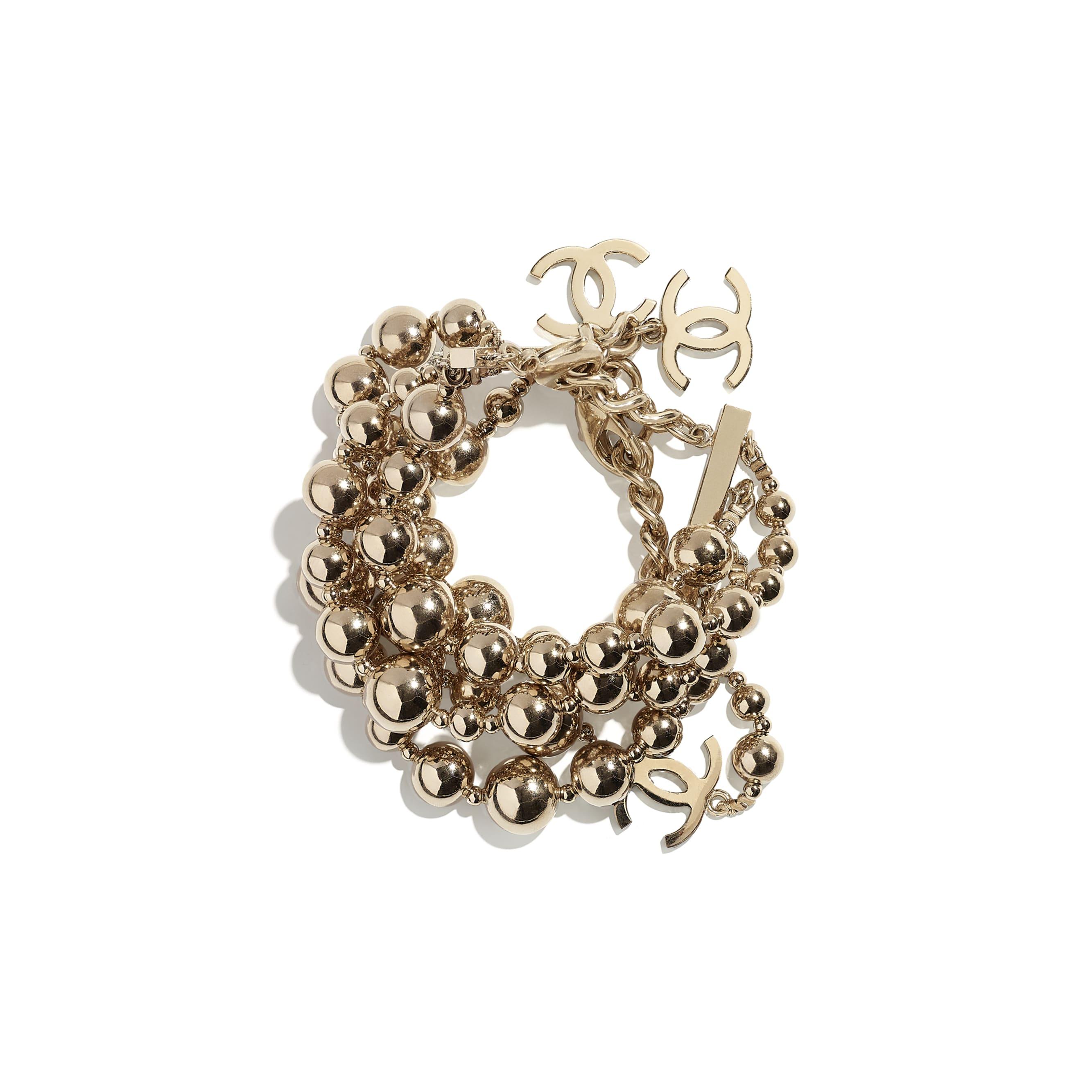 Bracelet - Gold - Metal - CHANEL - Default view - see standard sized version