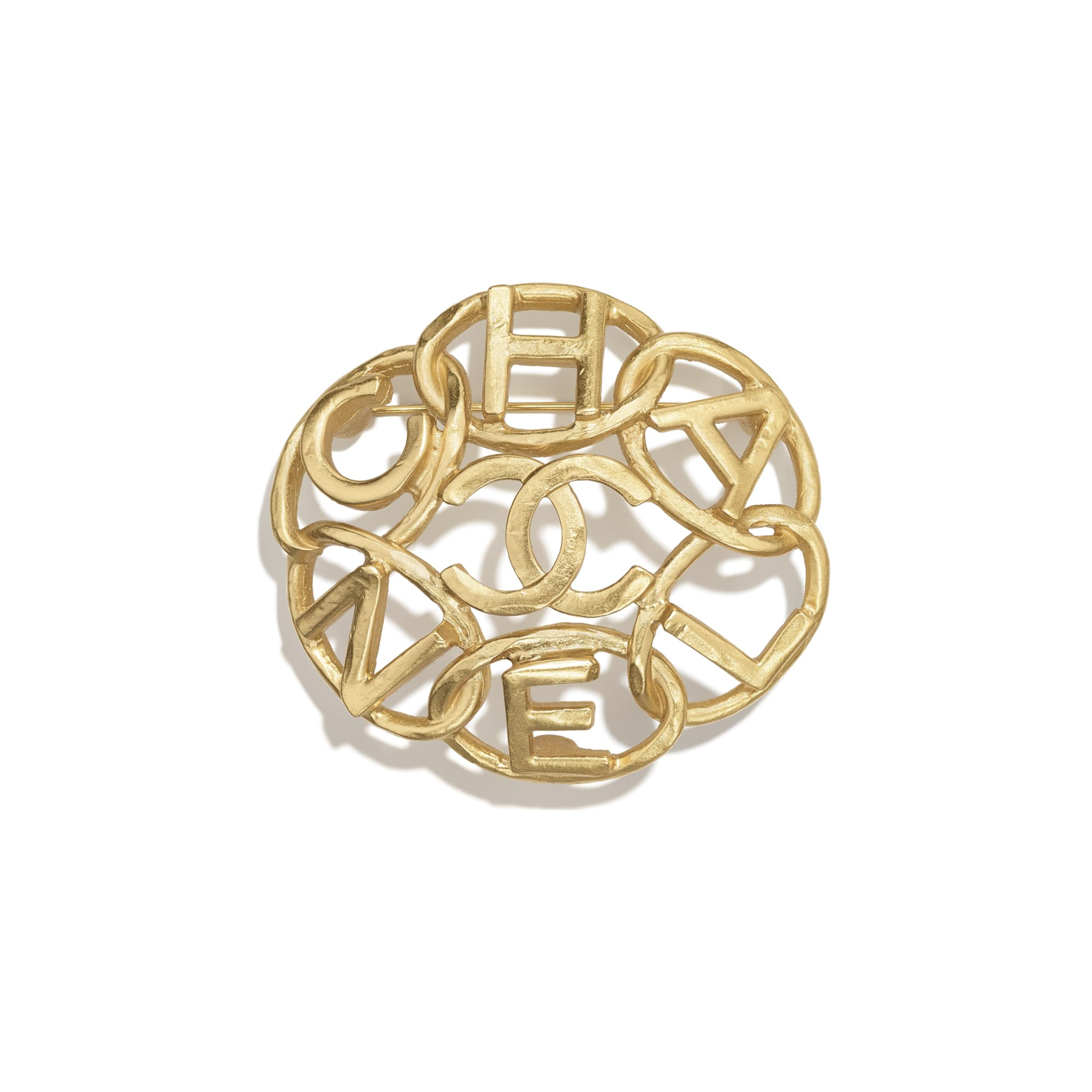Brooch - Gold - Metal - CHANEL - Default view - see standard sized version