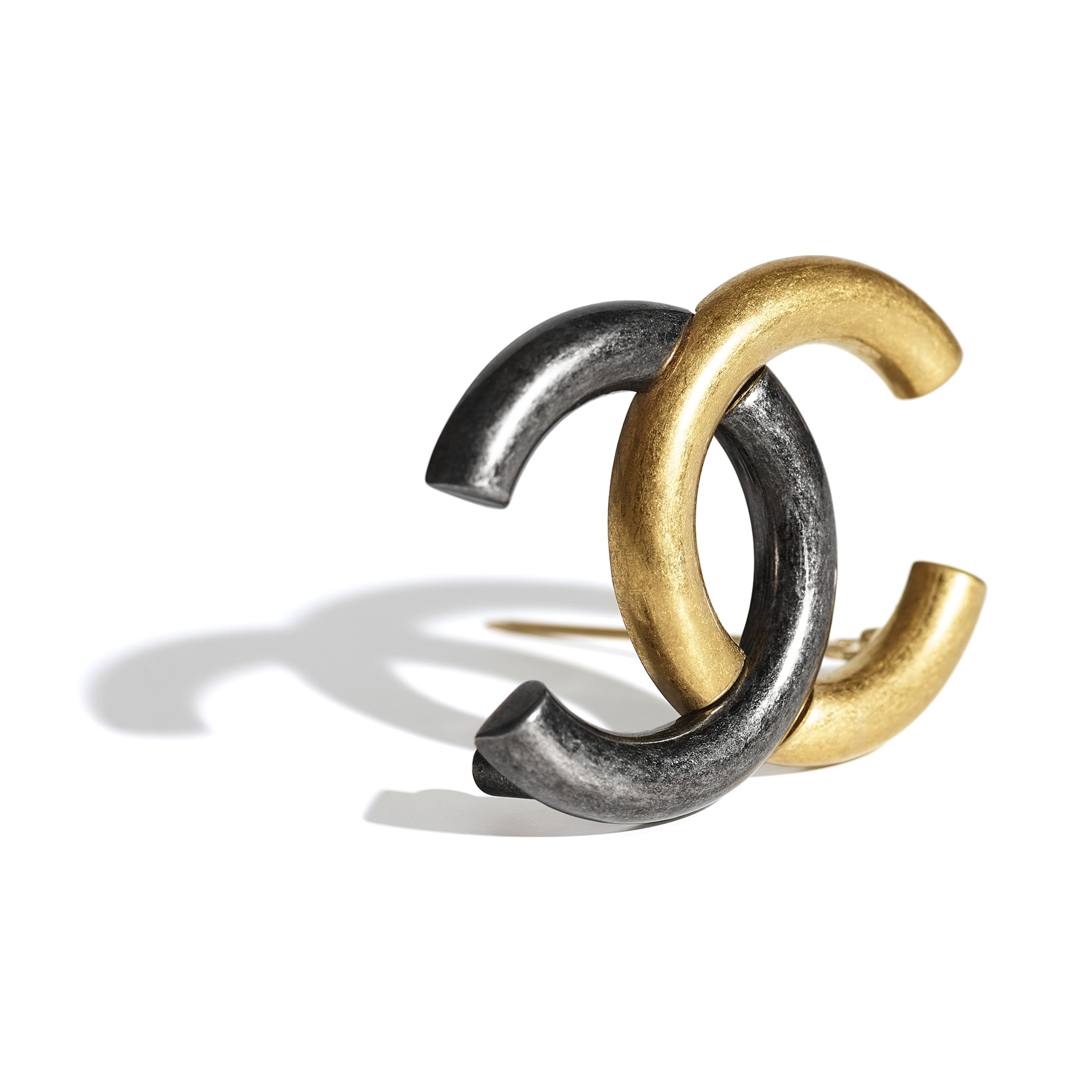Brooch - Gold & Ruthenium - Metal - CHANEL - Alternative view - see standard sized version