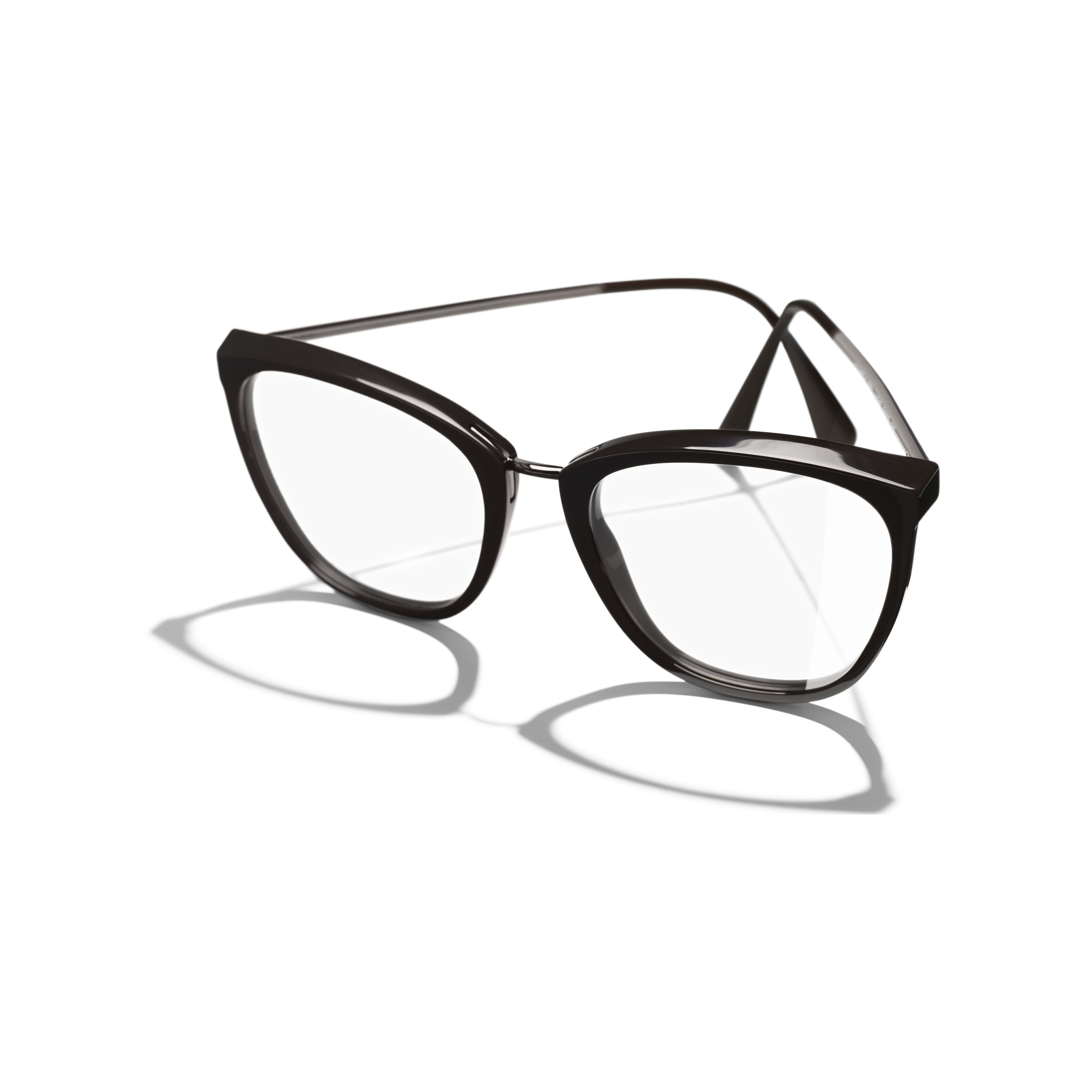 9d2a39f156f2 Butterfly Eyeglasses - Brown - Acetate   Metal - Extra view - see full  sized version ...