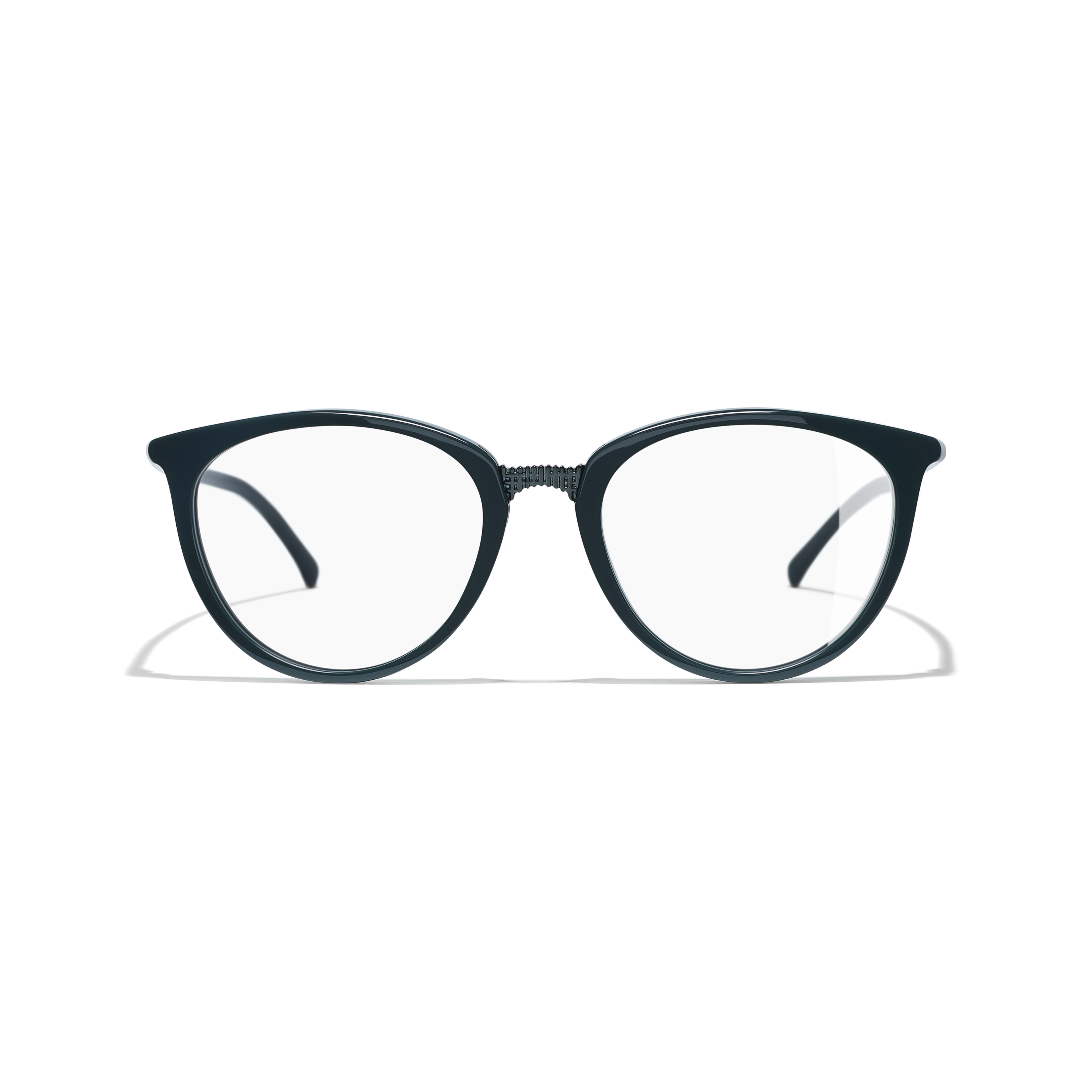 Butterfly Eyeglasses - Dark Green - Acetate - Alternative view - see standard sized version