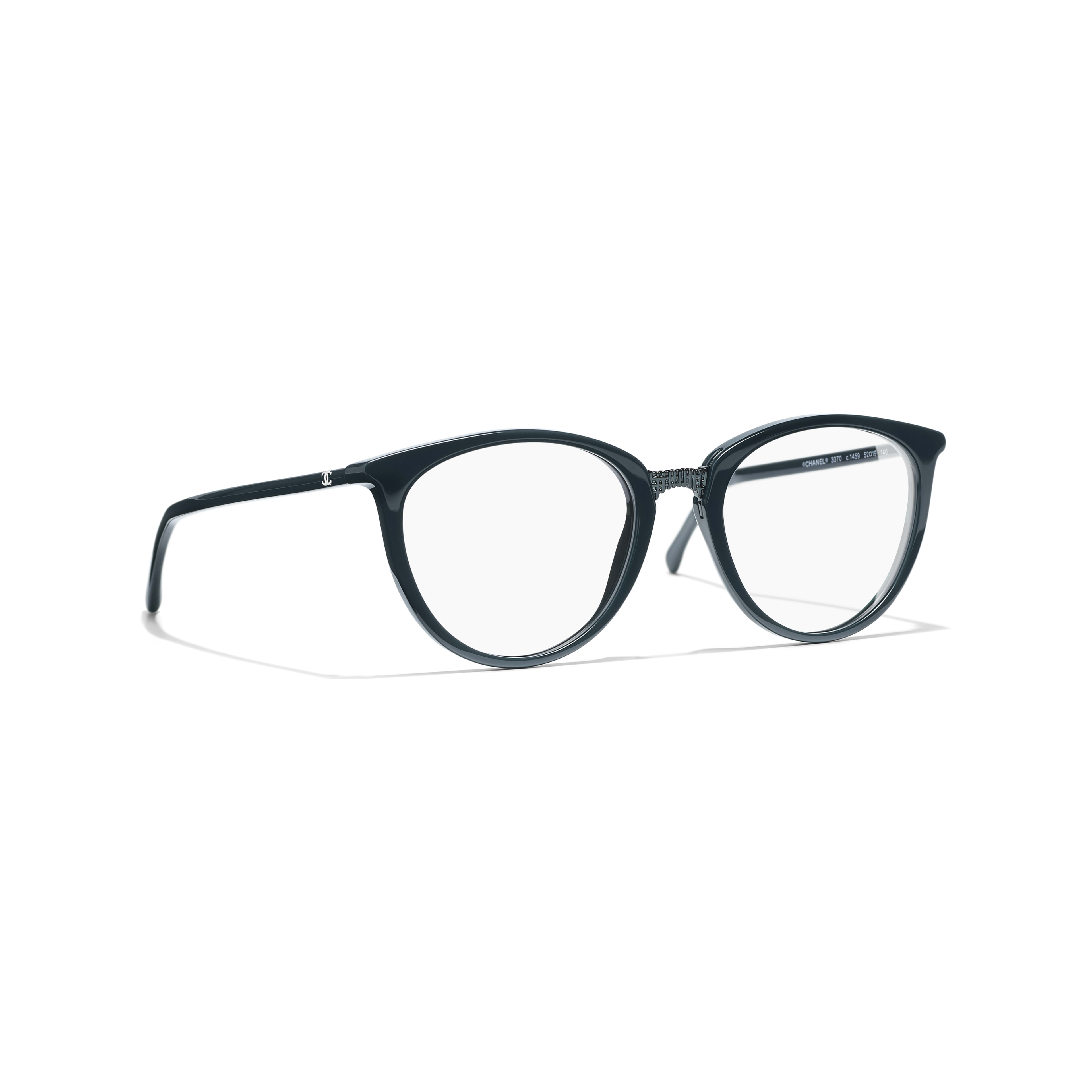 Butterfly Eyeglasses - Dark Green - Acetate - Default view - see standard sized version