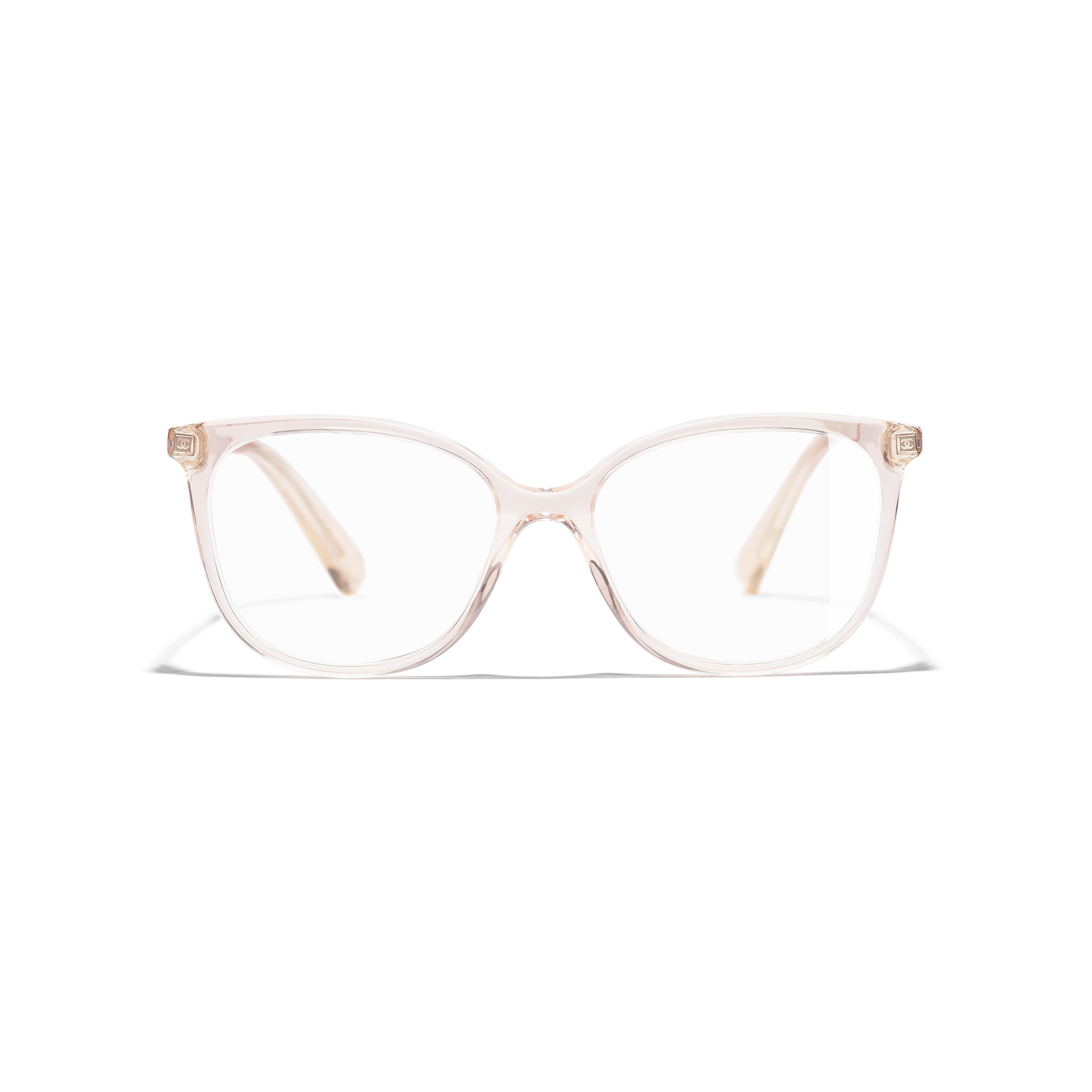 Butterfly Eyeglasses - Pink - Acetate & Metal - Alternative view - see standard sized version