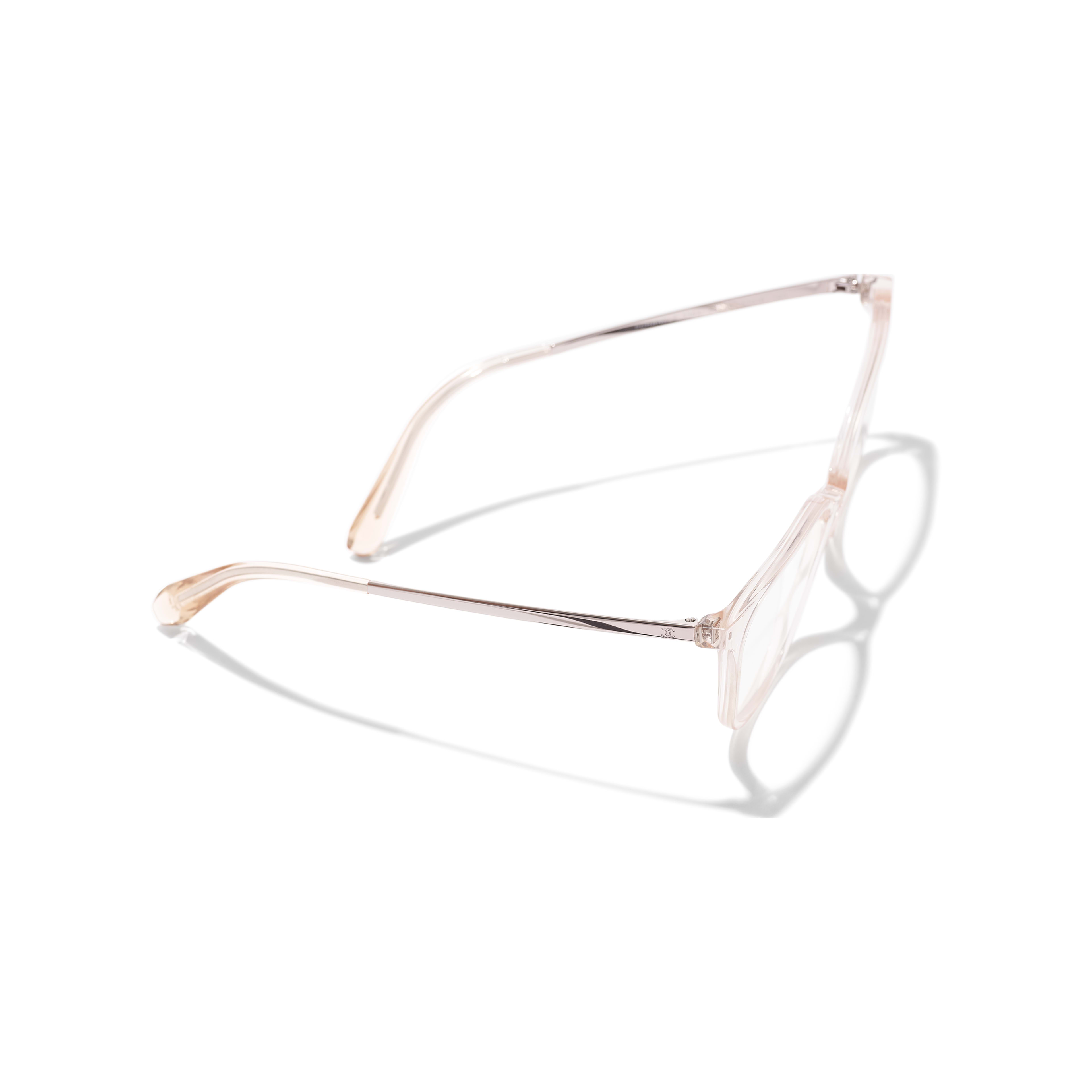 Butterfly Eyeglasses - Pink - Acetate & Metal - Extra view - see standard sized version