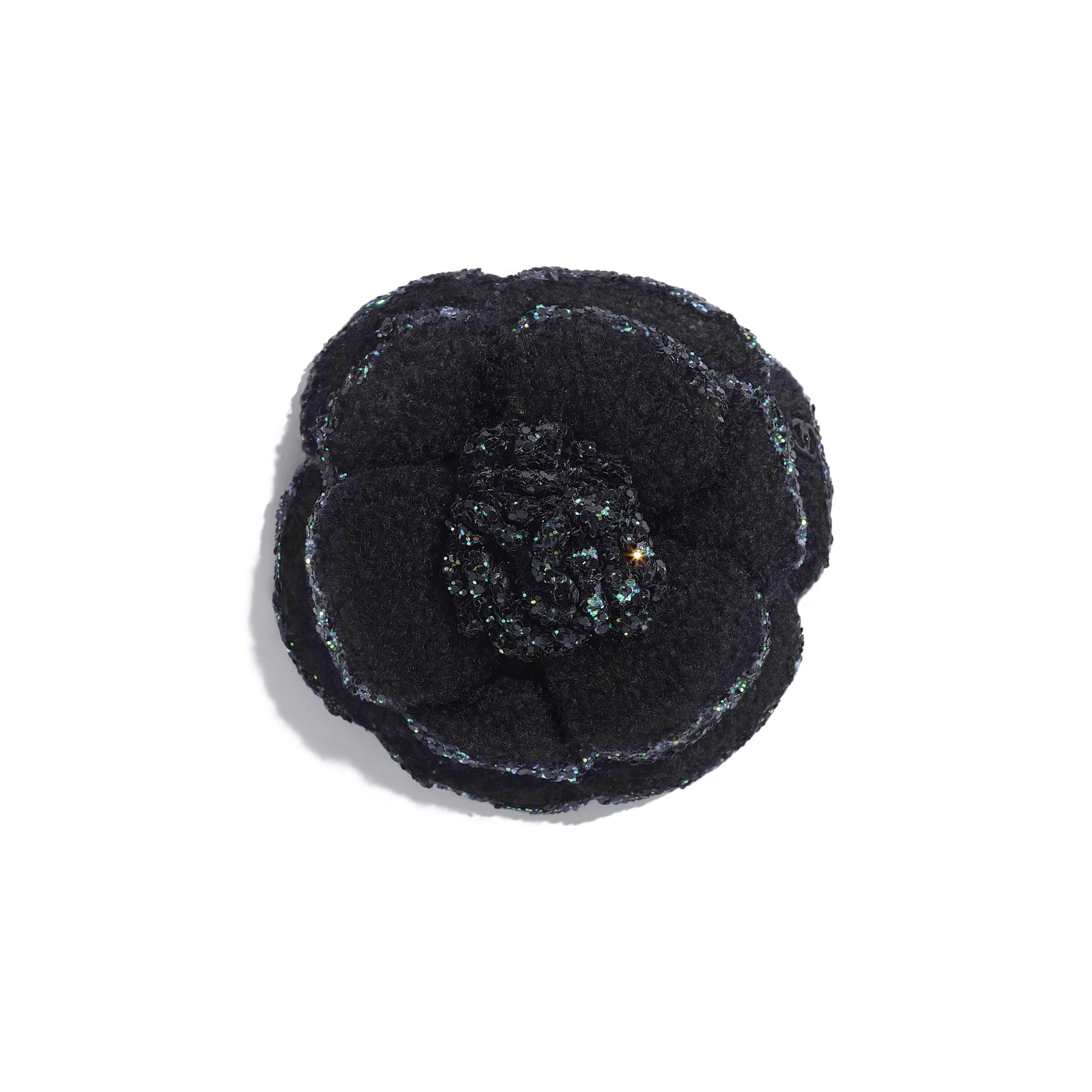 Camellia - Black - Tweed - Default view - see standard sized version
