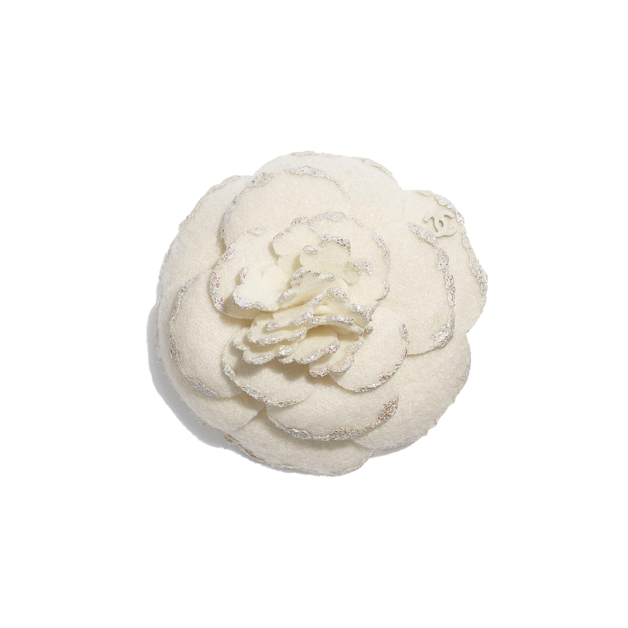 Camellia - Ivory - Wool Tweed - Default view - see standard sized version