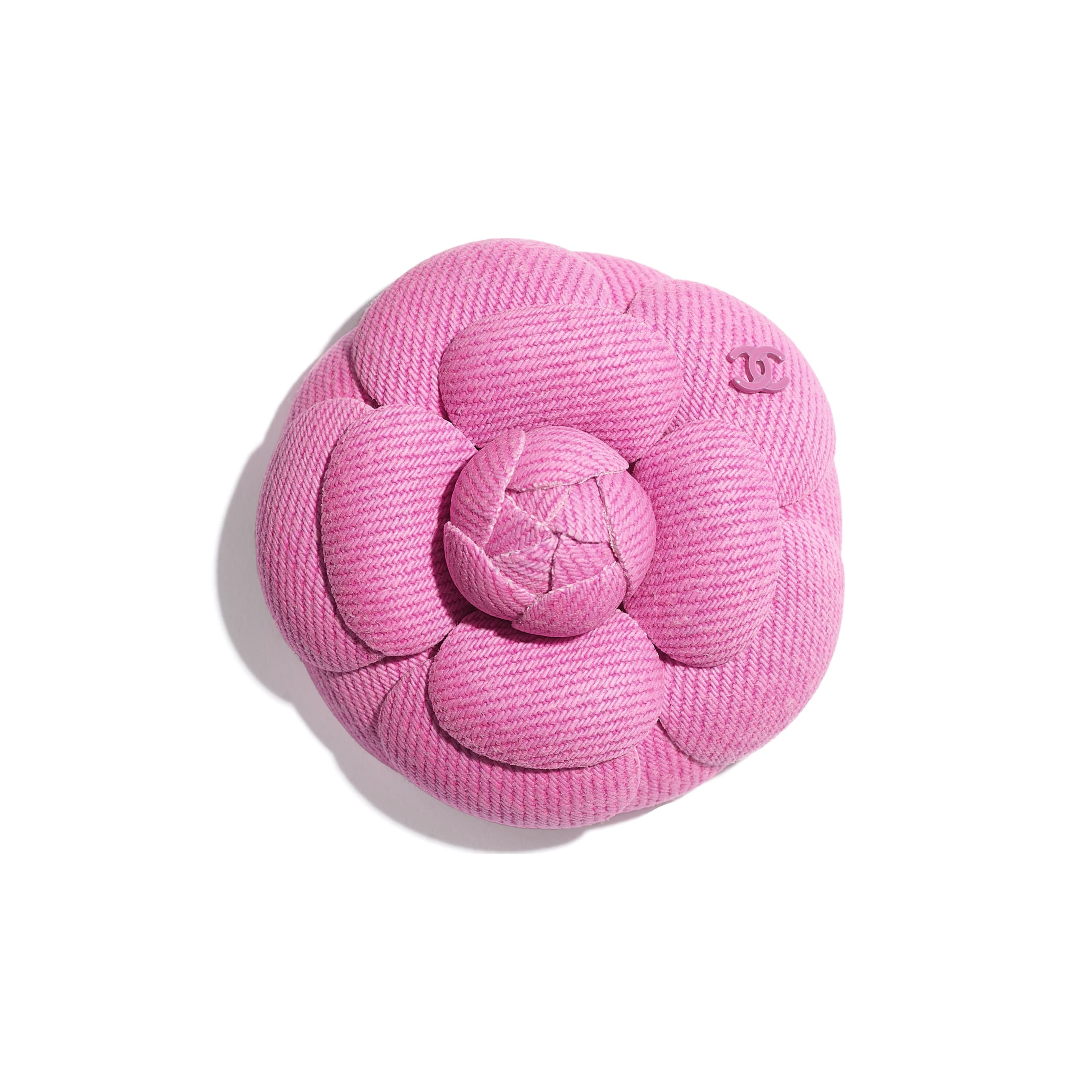 Camellia - Neon Pink - Cotton - CHANEL - Default view - see standard sized version