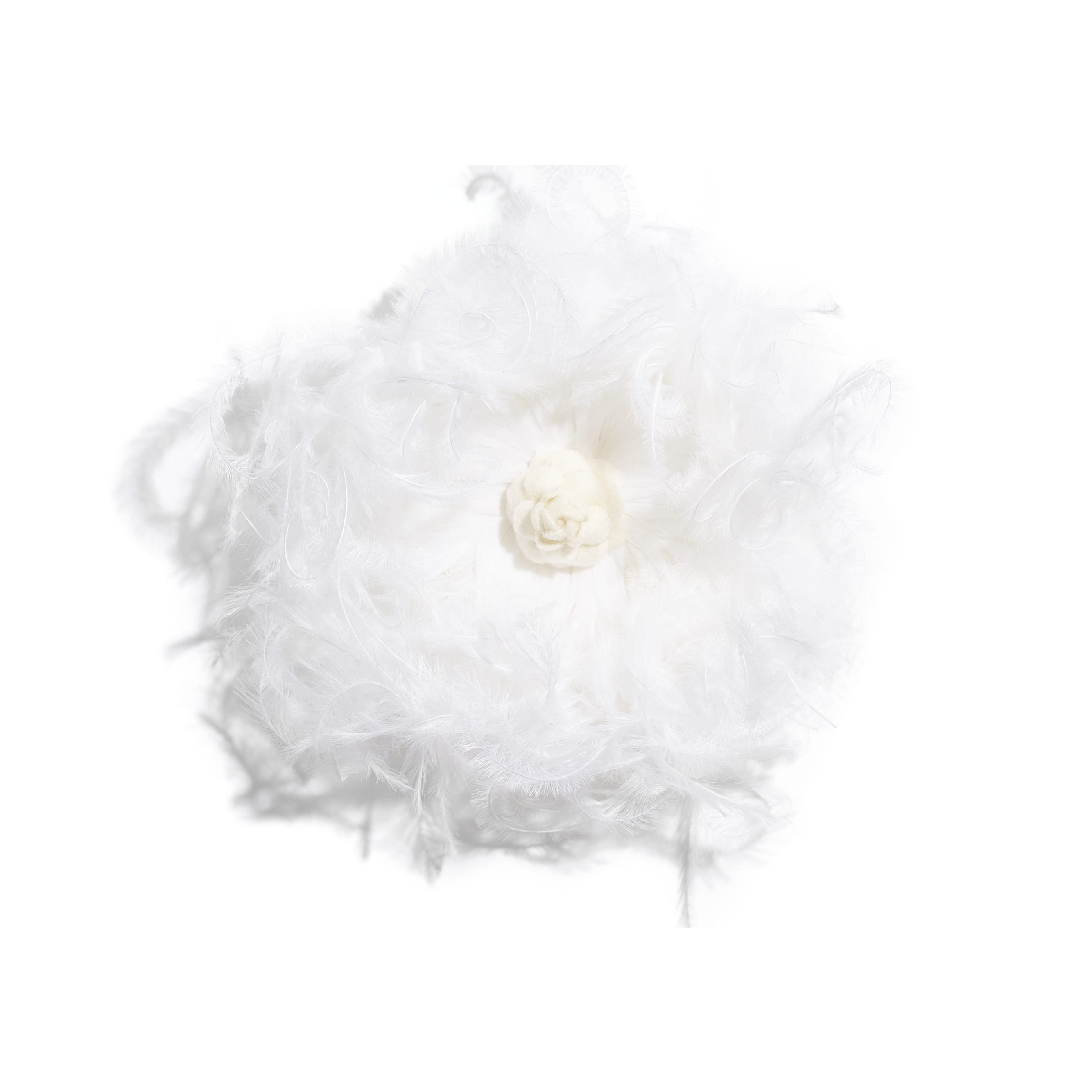 Camellia - White - Feathers & Wool - Default view - see standard sized version