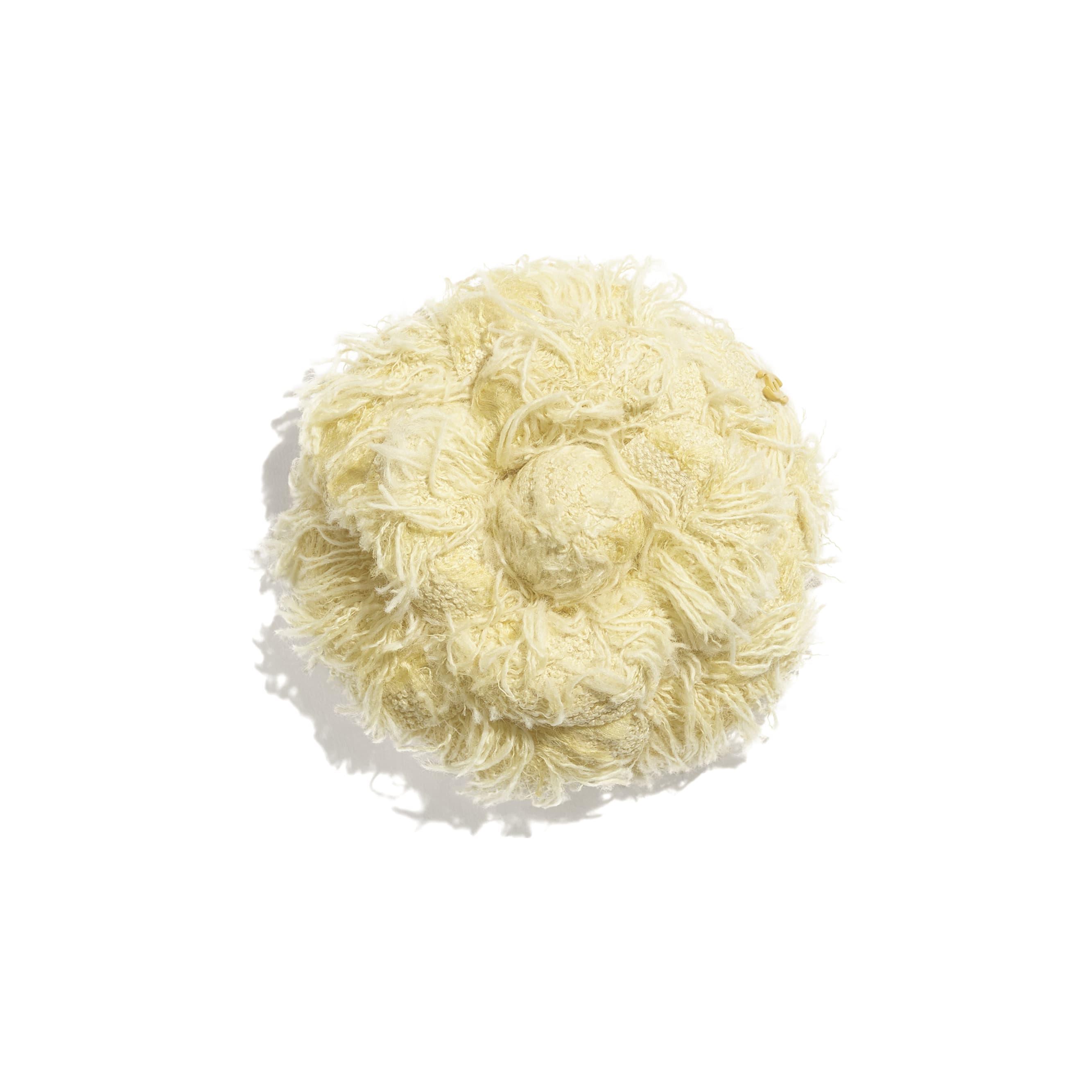 Kamelie - Gelb - Baumwolltweed - CHANEL - Standardansicht - Standardgröße anzeigen