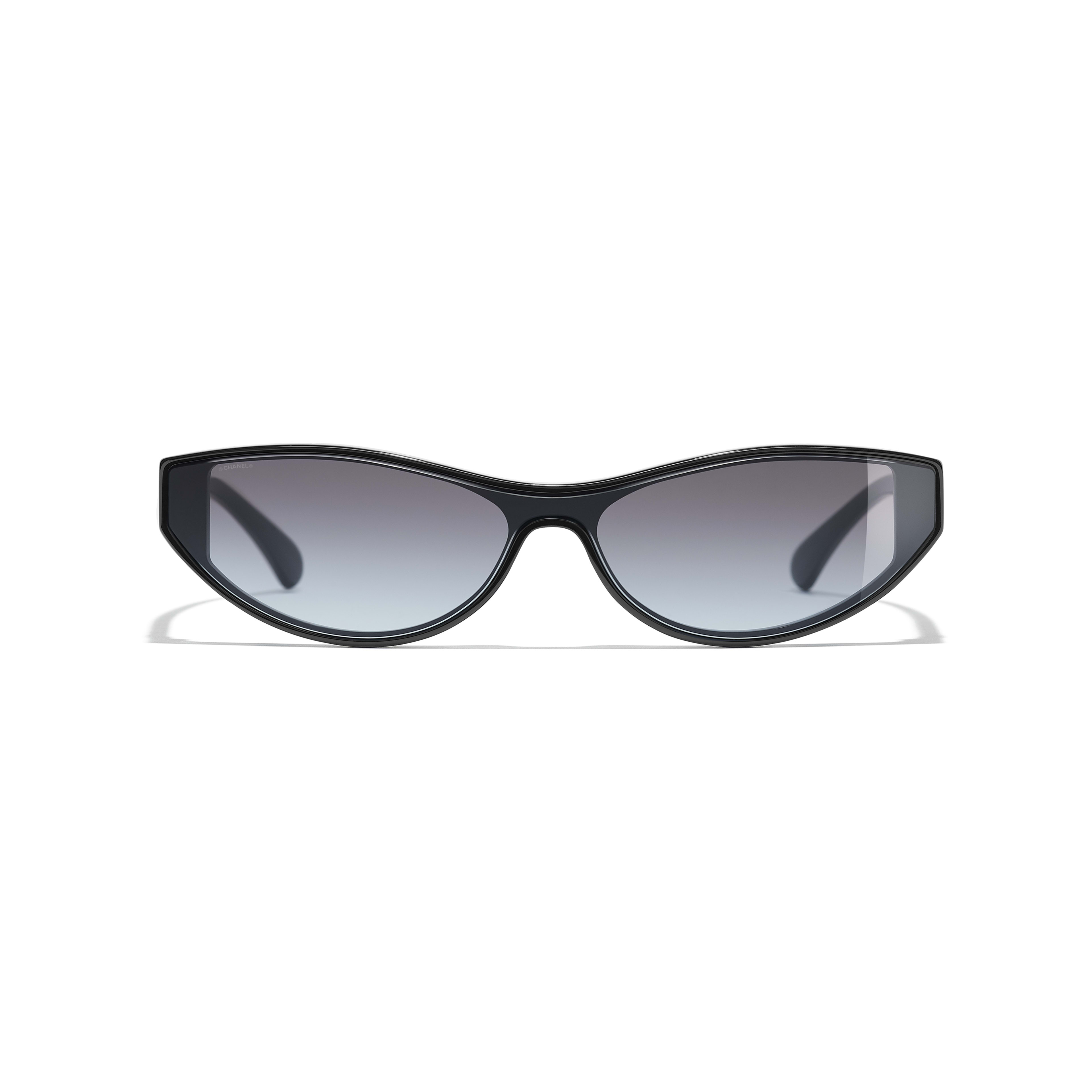 Cat Eye Sunglasses - Black - Acetate - Alternative view - see standard sized version