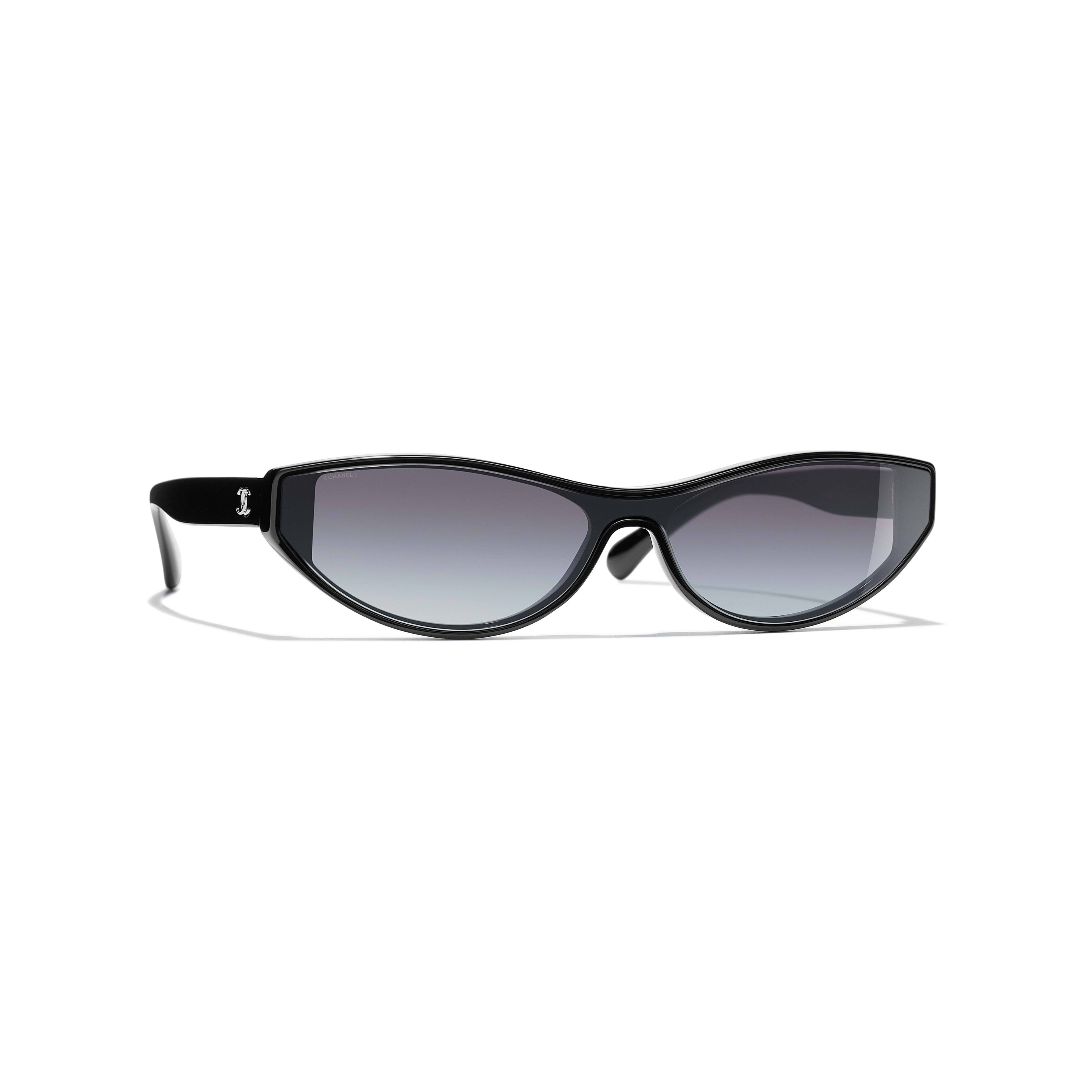 Cat Eye Sunglasses - Black - Acetate - Default view - see standard sized version