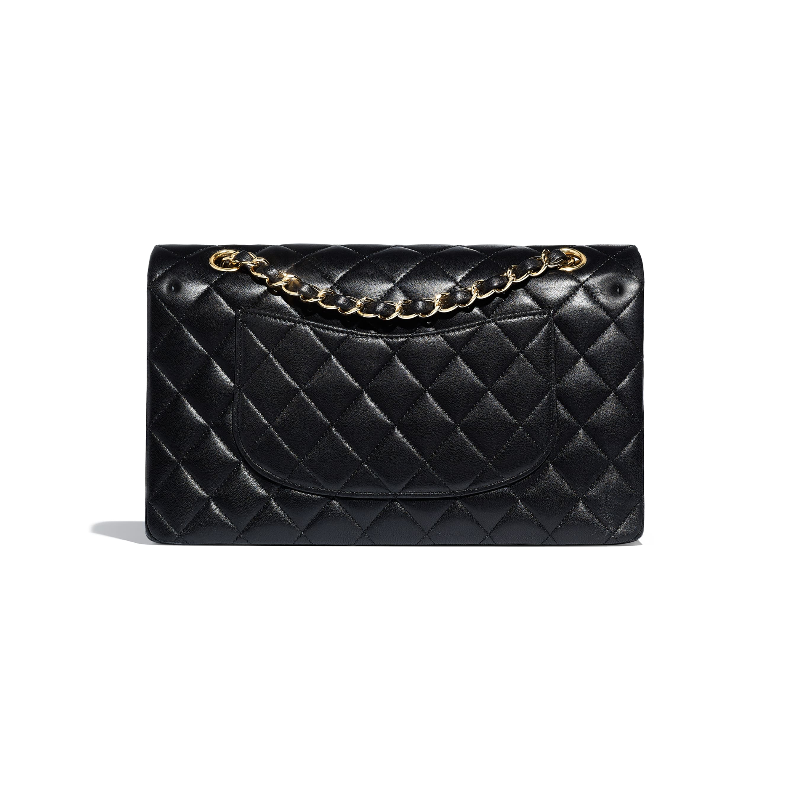 Classic Handbag - Black - Lambskin - CHANEL - Alternative view - see standard sized version