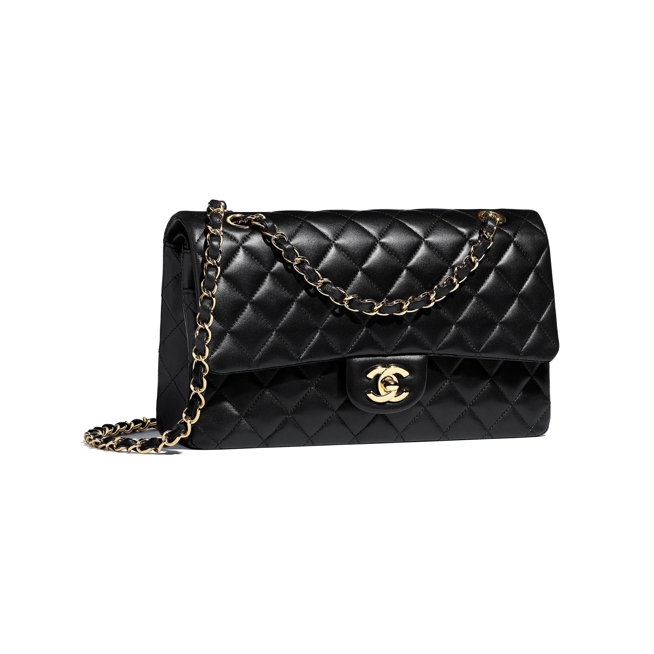 Classic Handbag - Black - Lambskin - CHANEL - Other view - see standard sized version