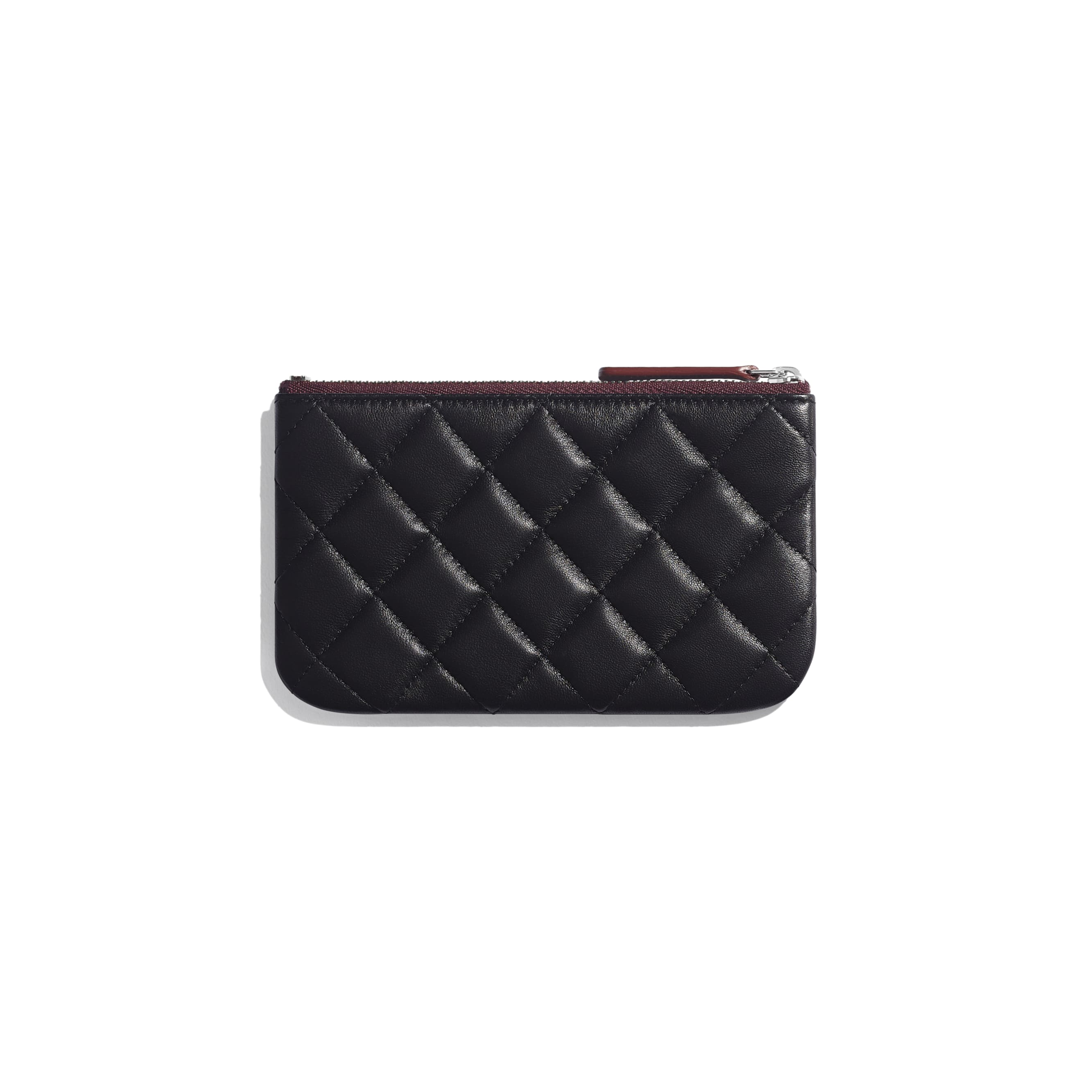 Classic Mini Pouch - Black - Lambskin - CHANEL - Alternative view - see standard sized version
