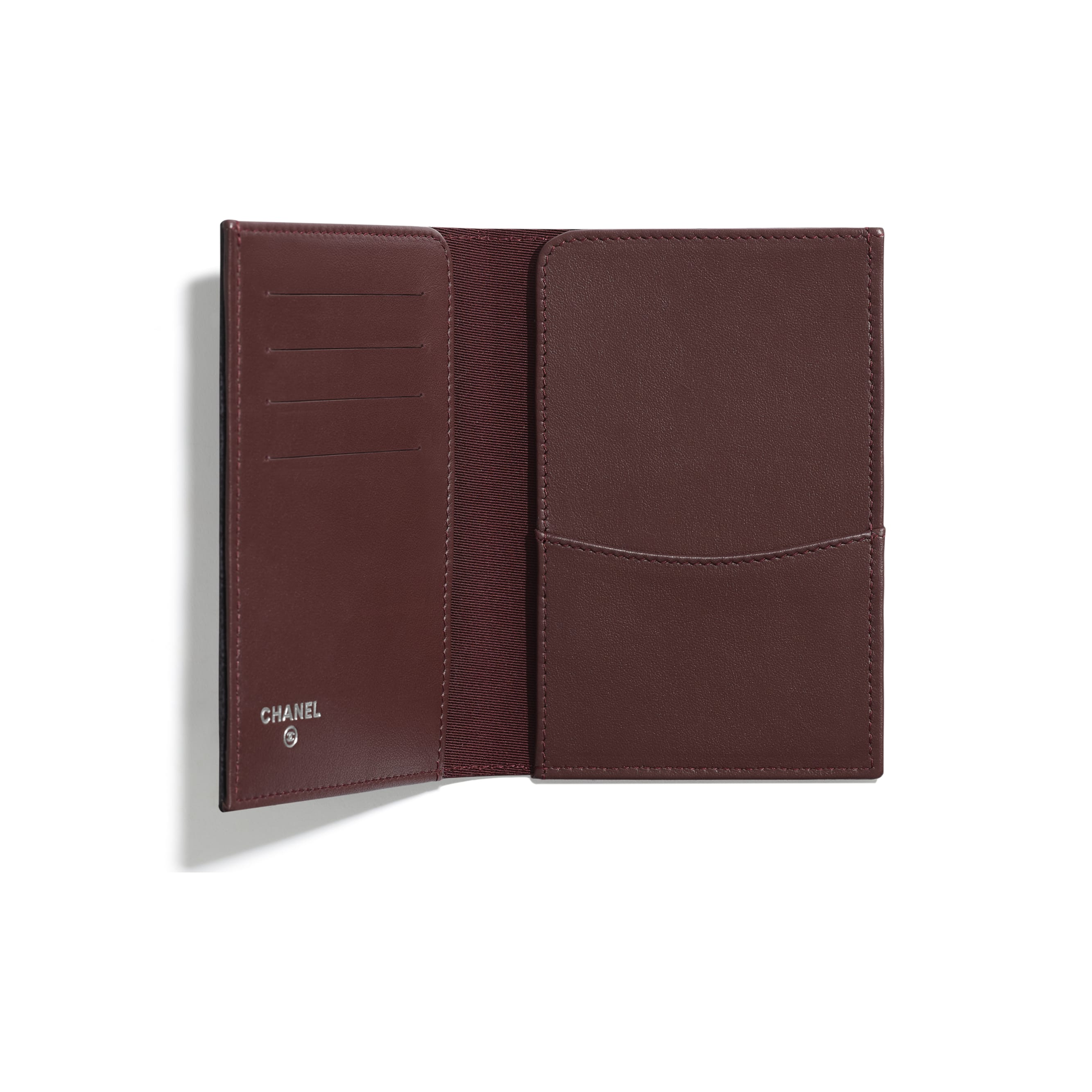 Classic Passport Holder - Black - Lambskin - Other view - see standard sized version