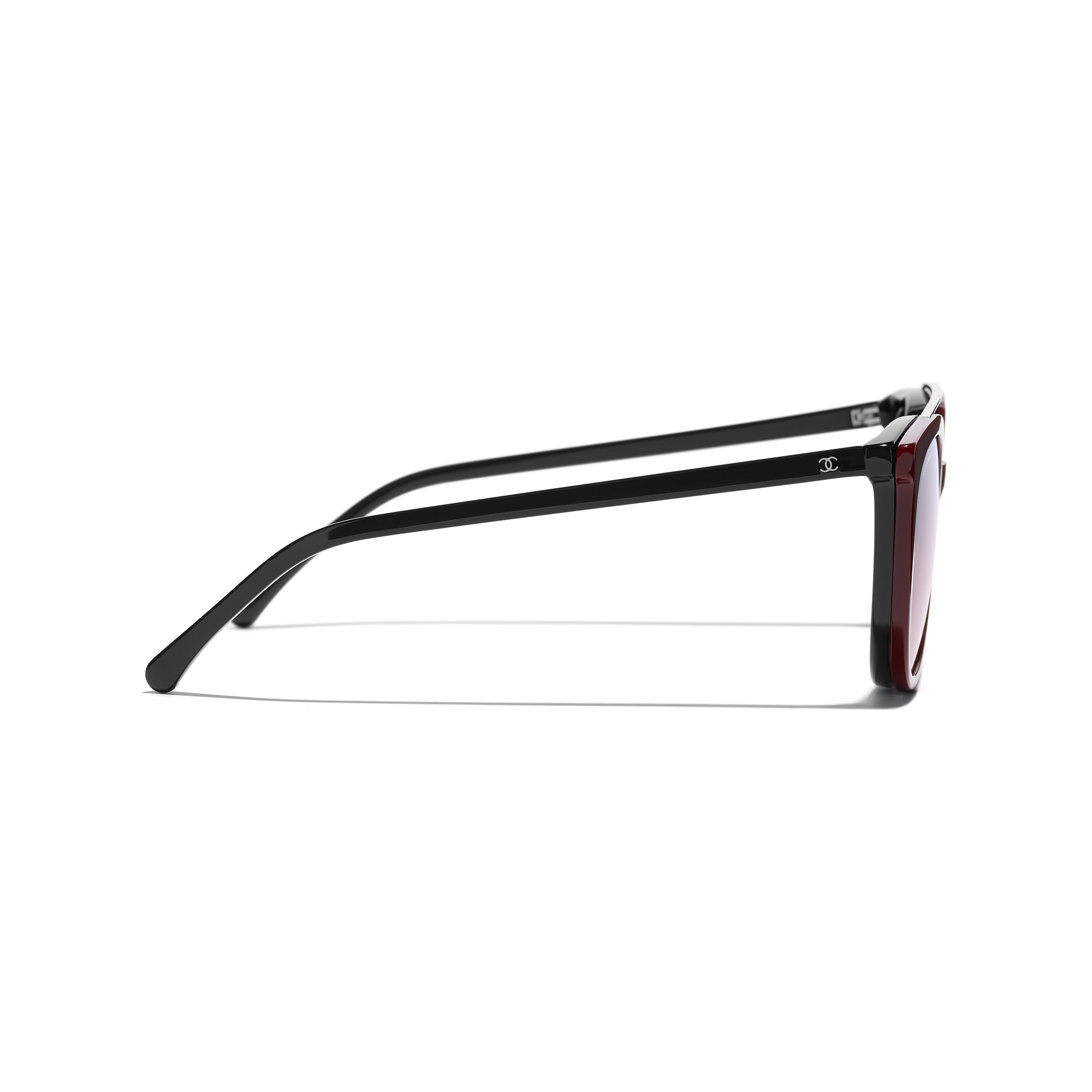 Clip on Sunglasses - Black - Acetate & Metal - Other view - see standard sized version
