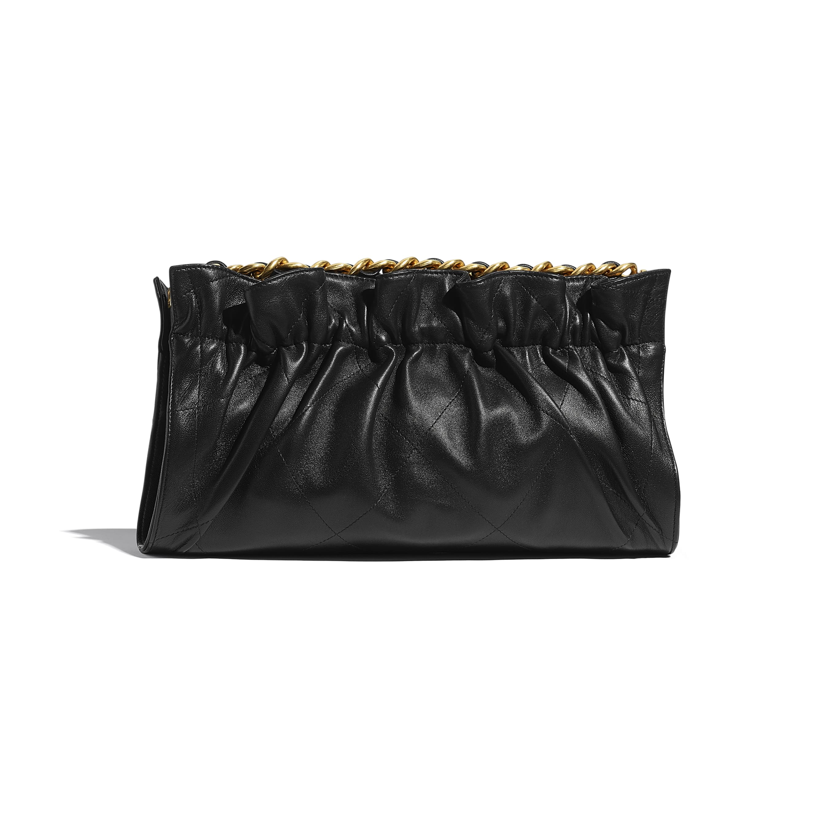 Clutch - Black - Lambskin - CHANEL - Alternative view - see standard sized version
