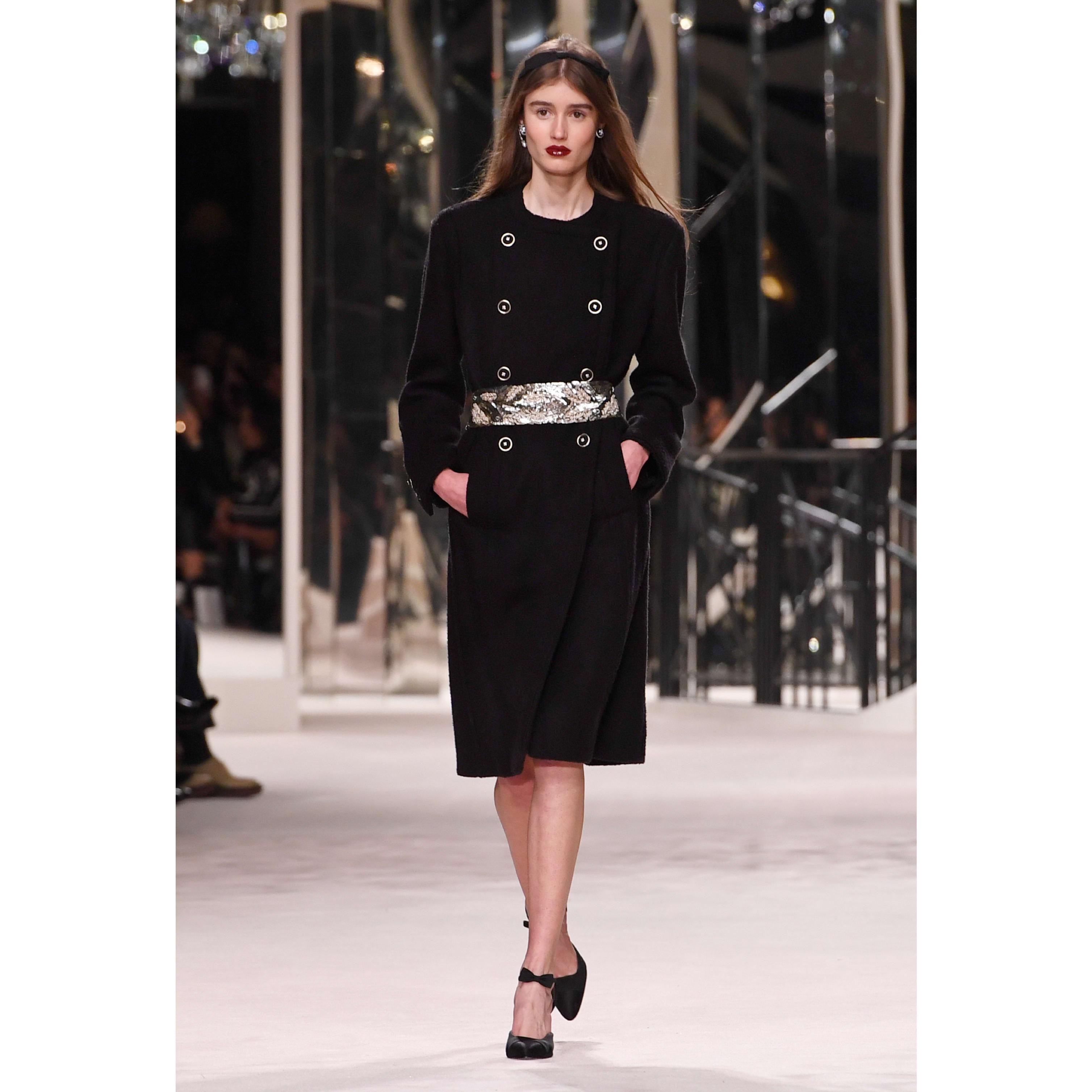 Casaco - Black - Wool & Cashmere Tweed - CHANEL - Vista predefinida - ver a versão em tamanho standard