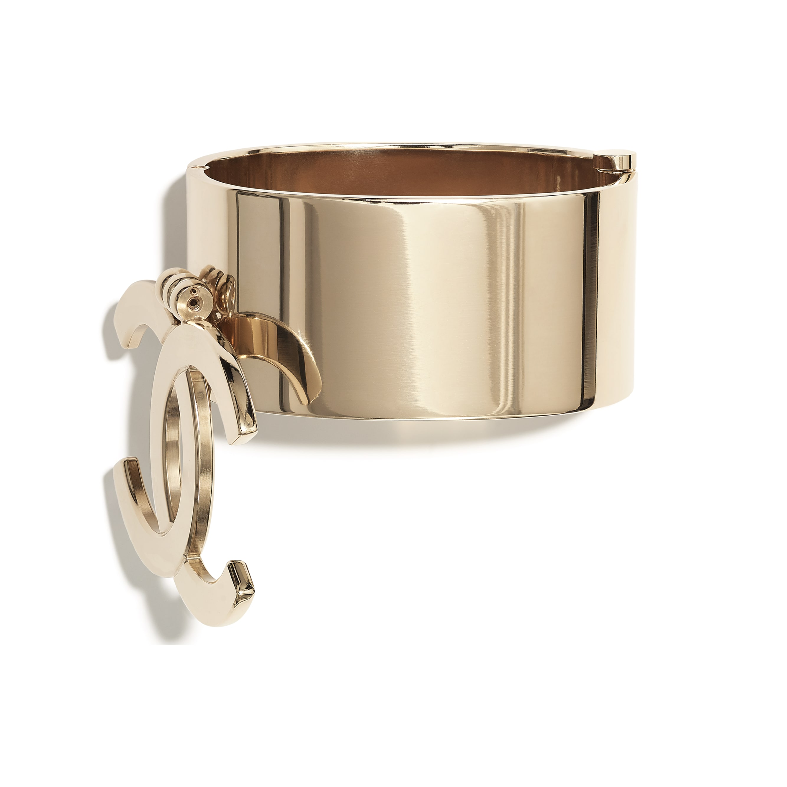 Cuff - Gold - Metal - CHANEL - Default view - see standard sized version