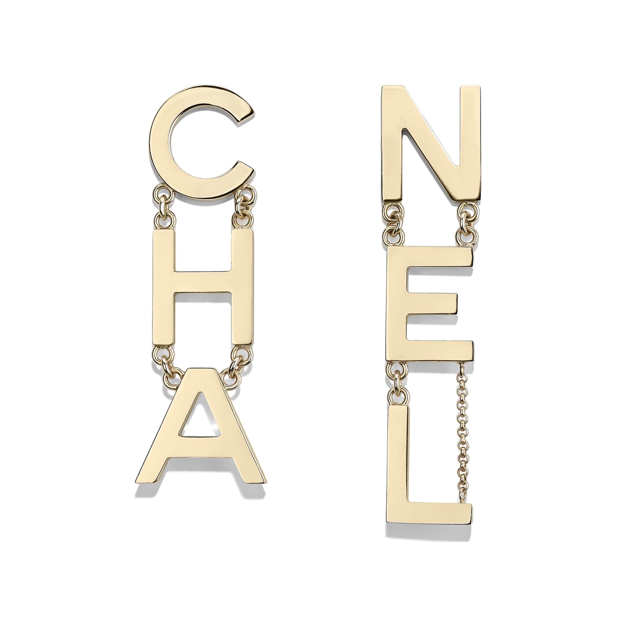 Earrings - Gold - Metal - Default view - see standard sized version