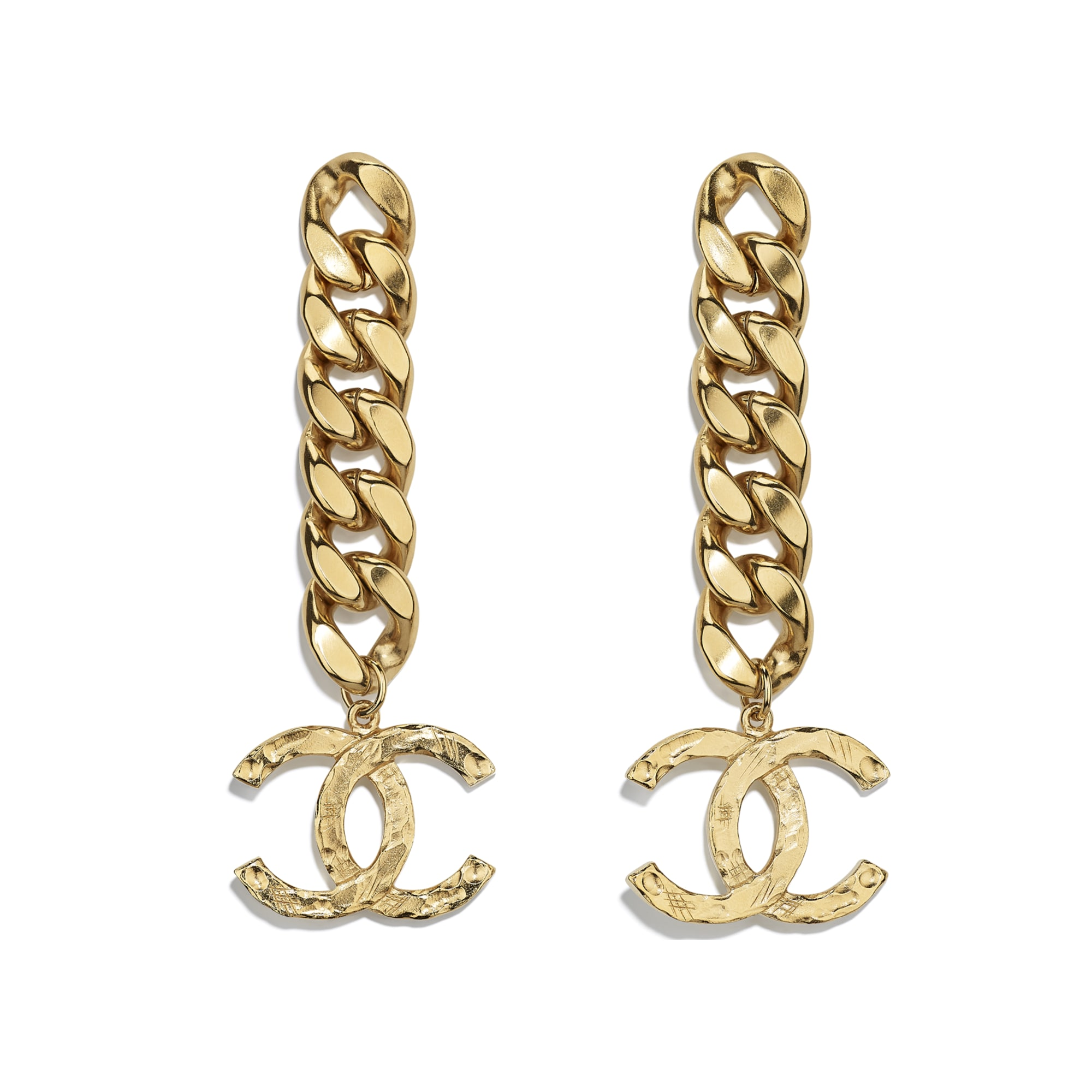 Earrings - Gold - Metal - Default view - see standard sized version
