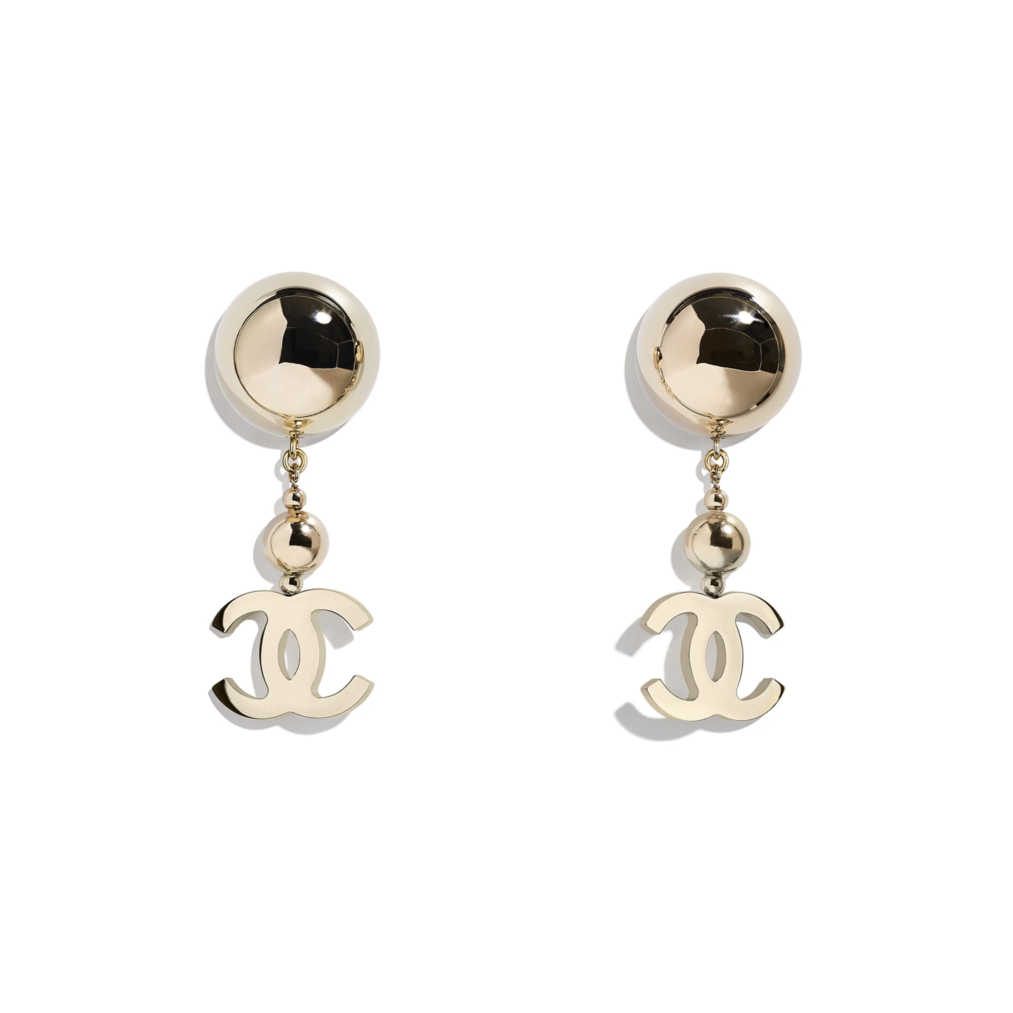 Earrings - Gold - Metal - CHANEL - Default view - see standard sized version
