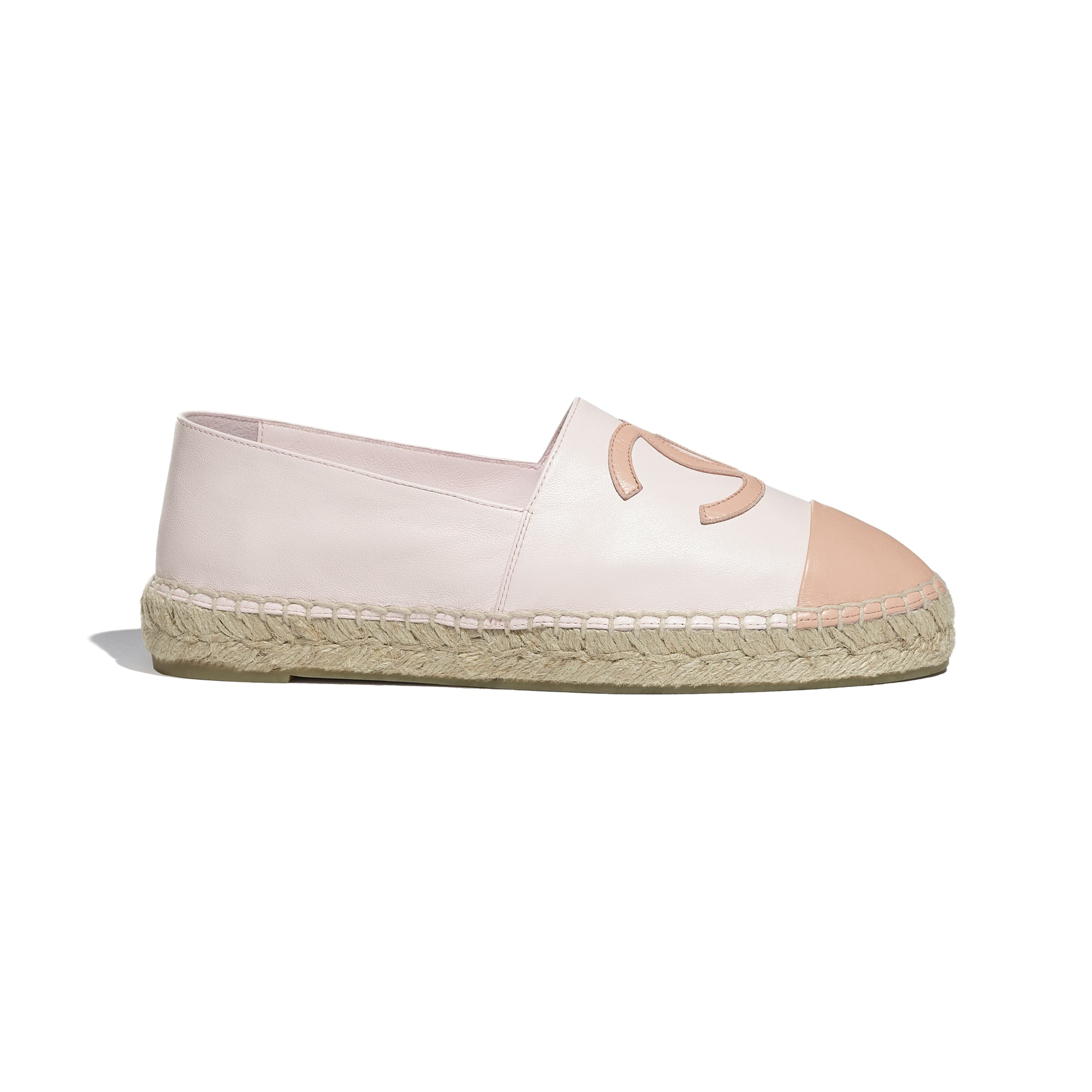 Espadrilles - Light Pink - Lambskin - CHANEL - Default view - see standard sized version