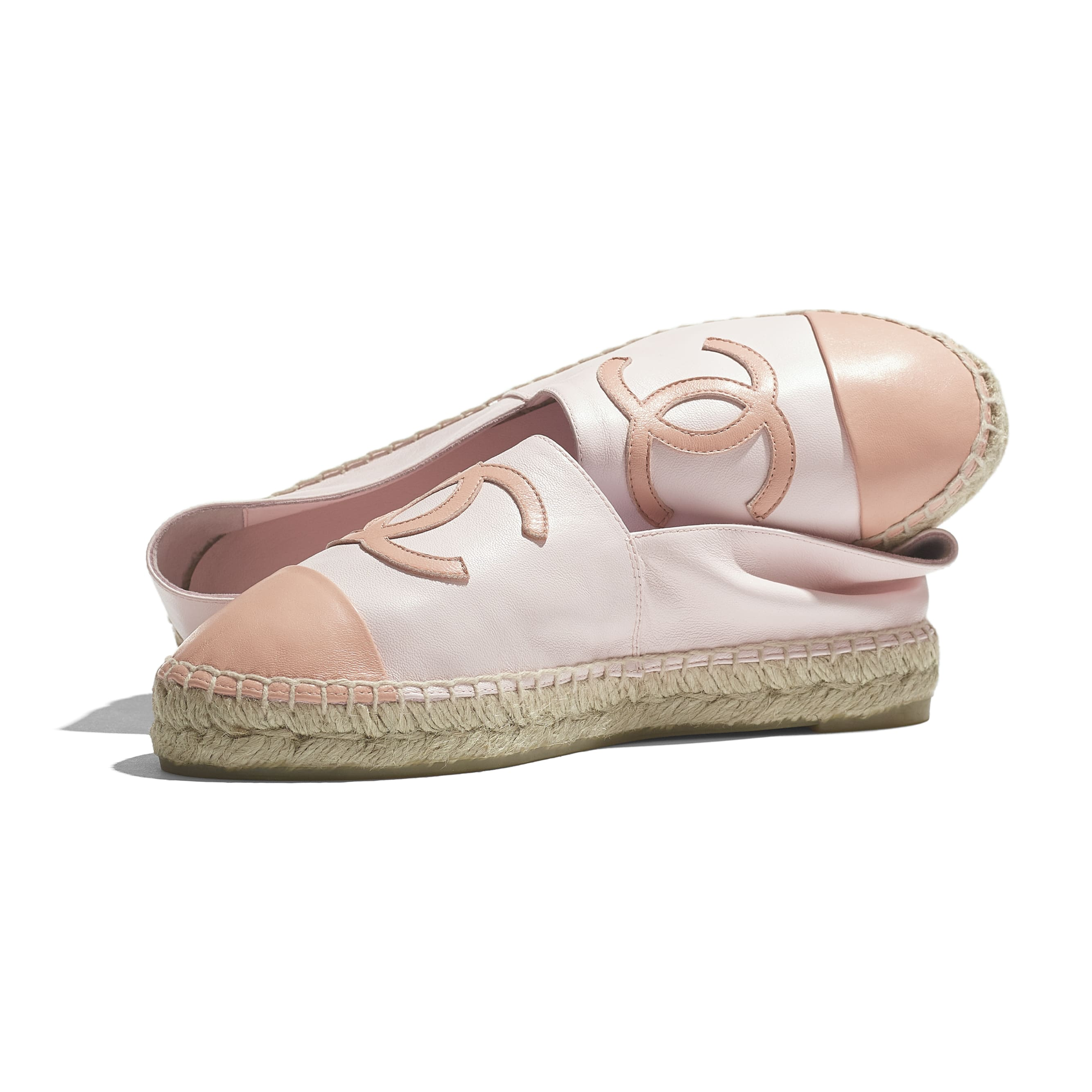 Espadrilles - Light Pink - Lambskin - CHANEL - Extra view - see standard sized version